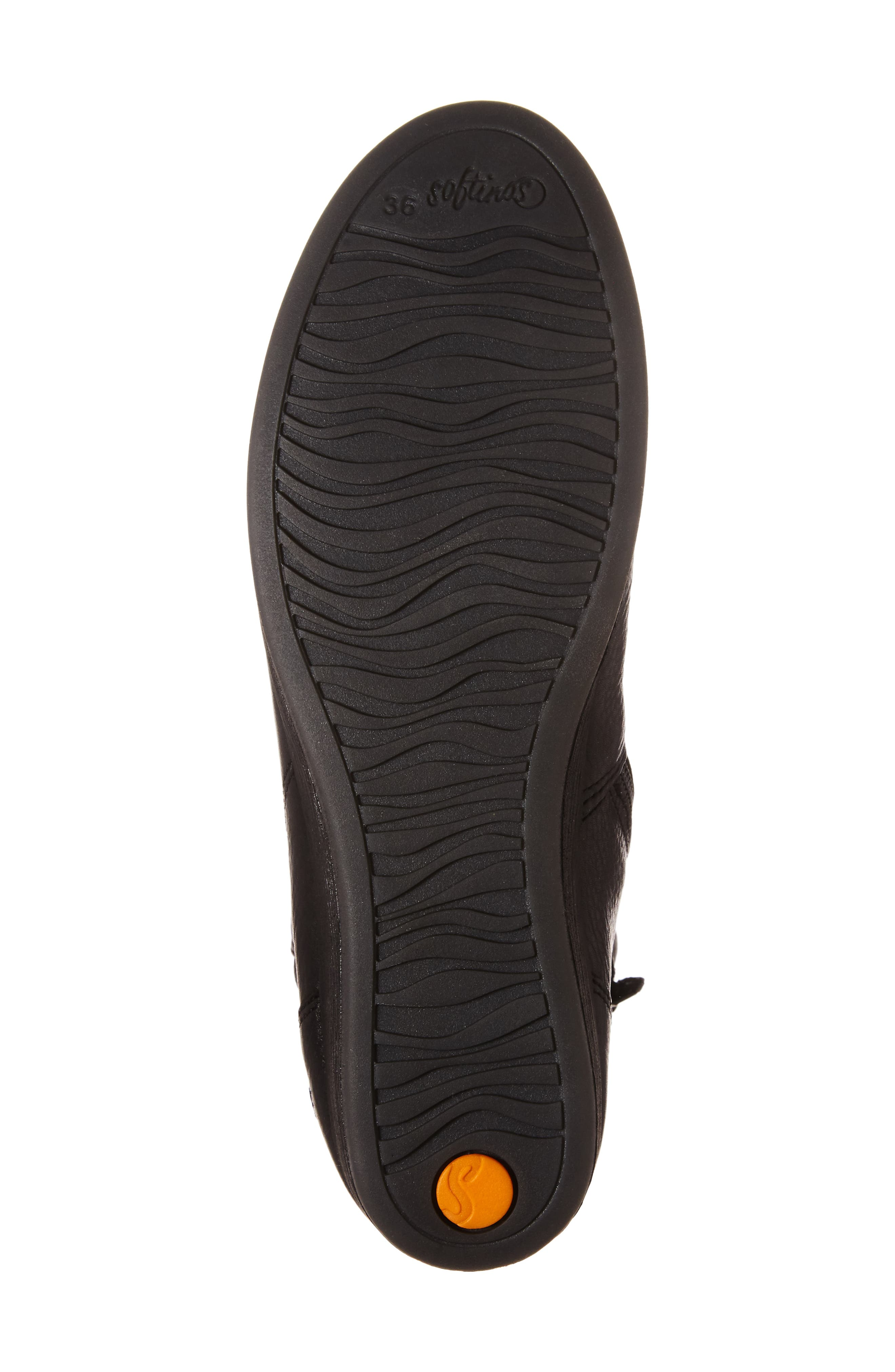 Ayo Low Wedge Bootie,                             Alternate thumbnail 6, color,                             001