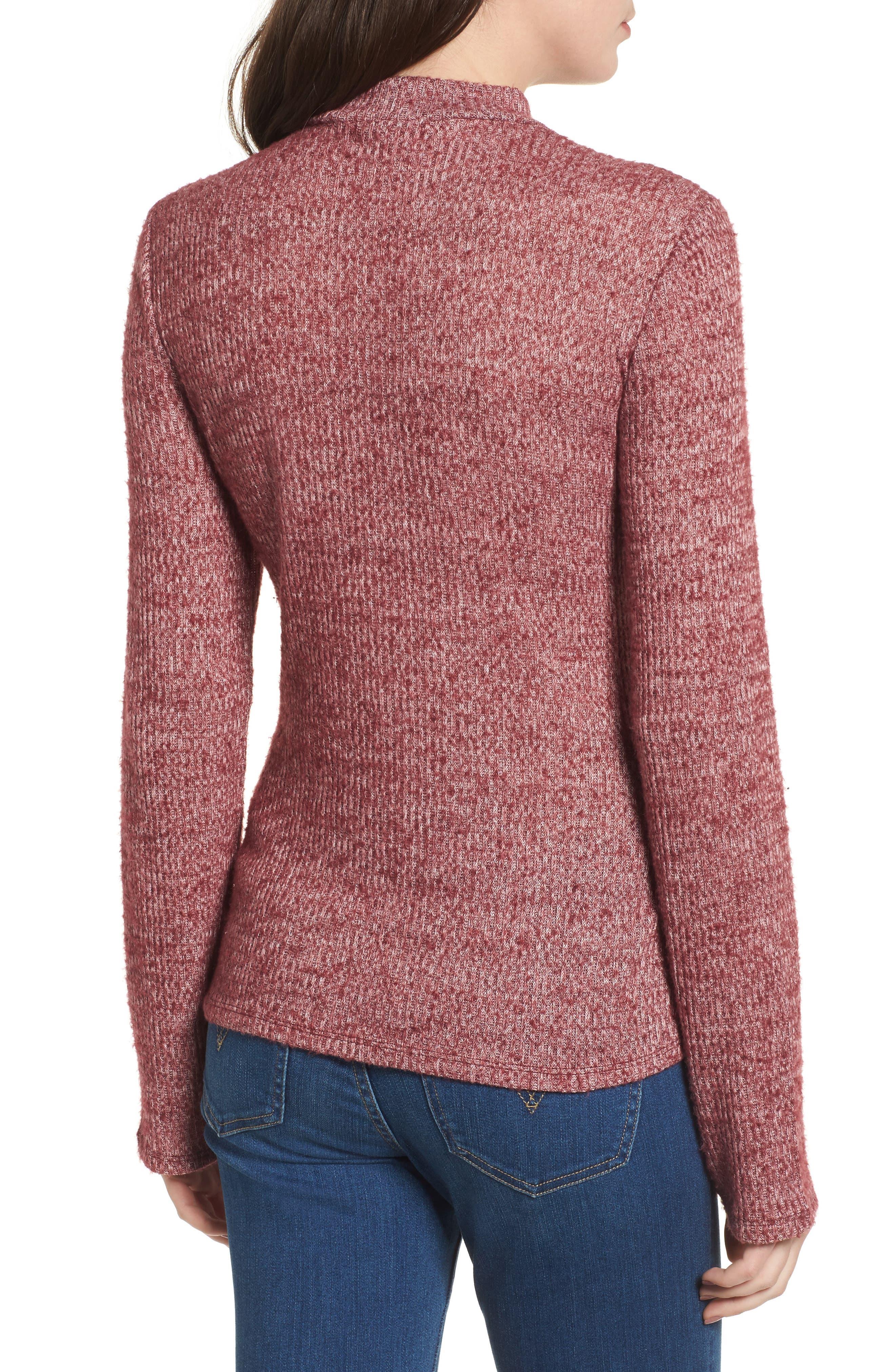 Rib Knit Corset Top,                             Alternate thumbnail 4, color,