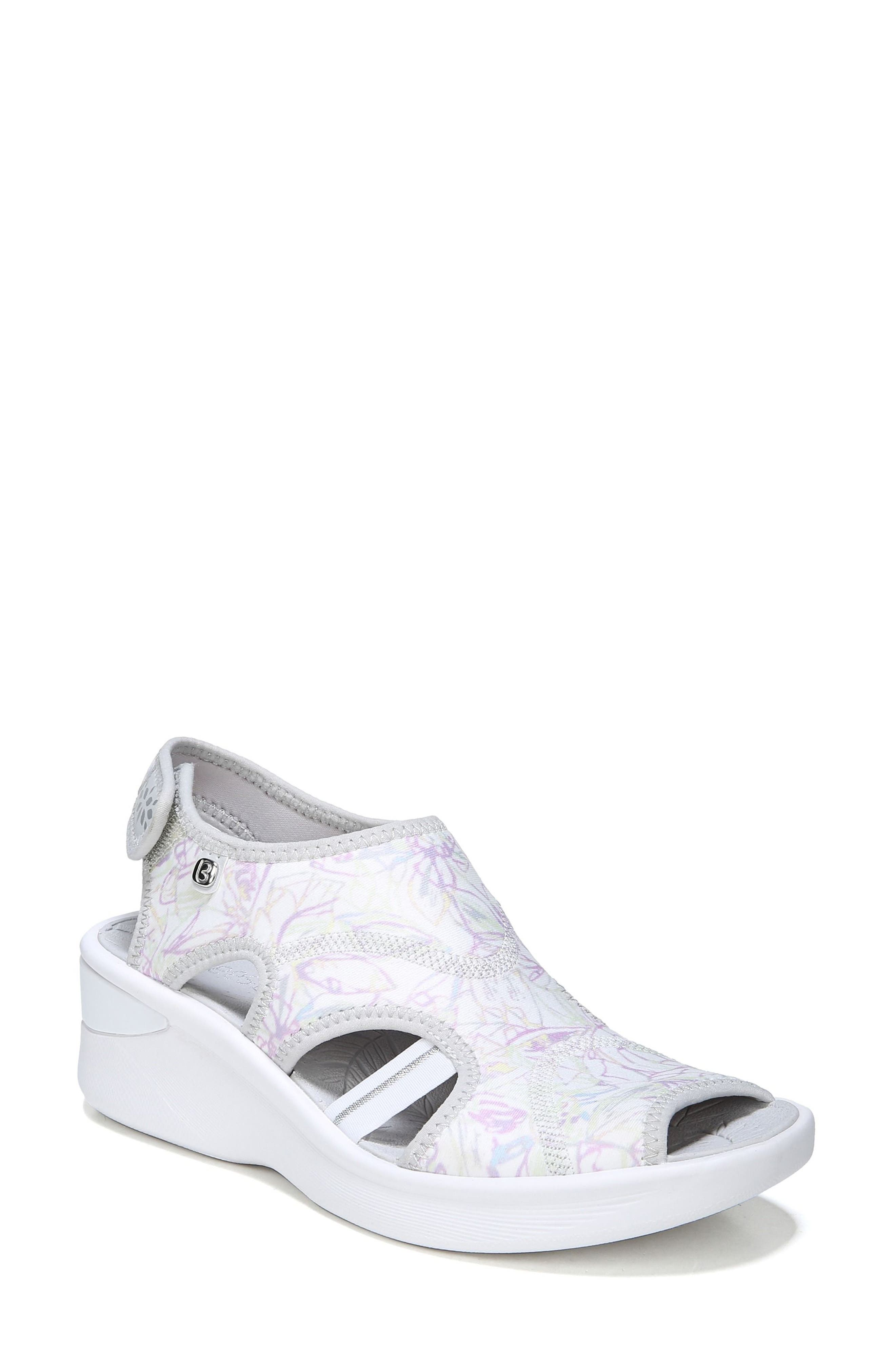 Spirit Sandal,                         Main,                         color, WHITE LEATHER