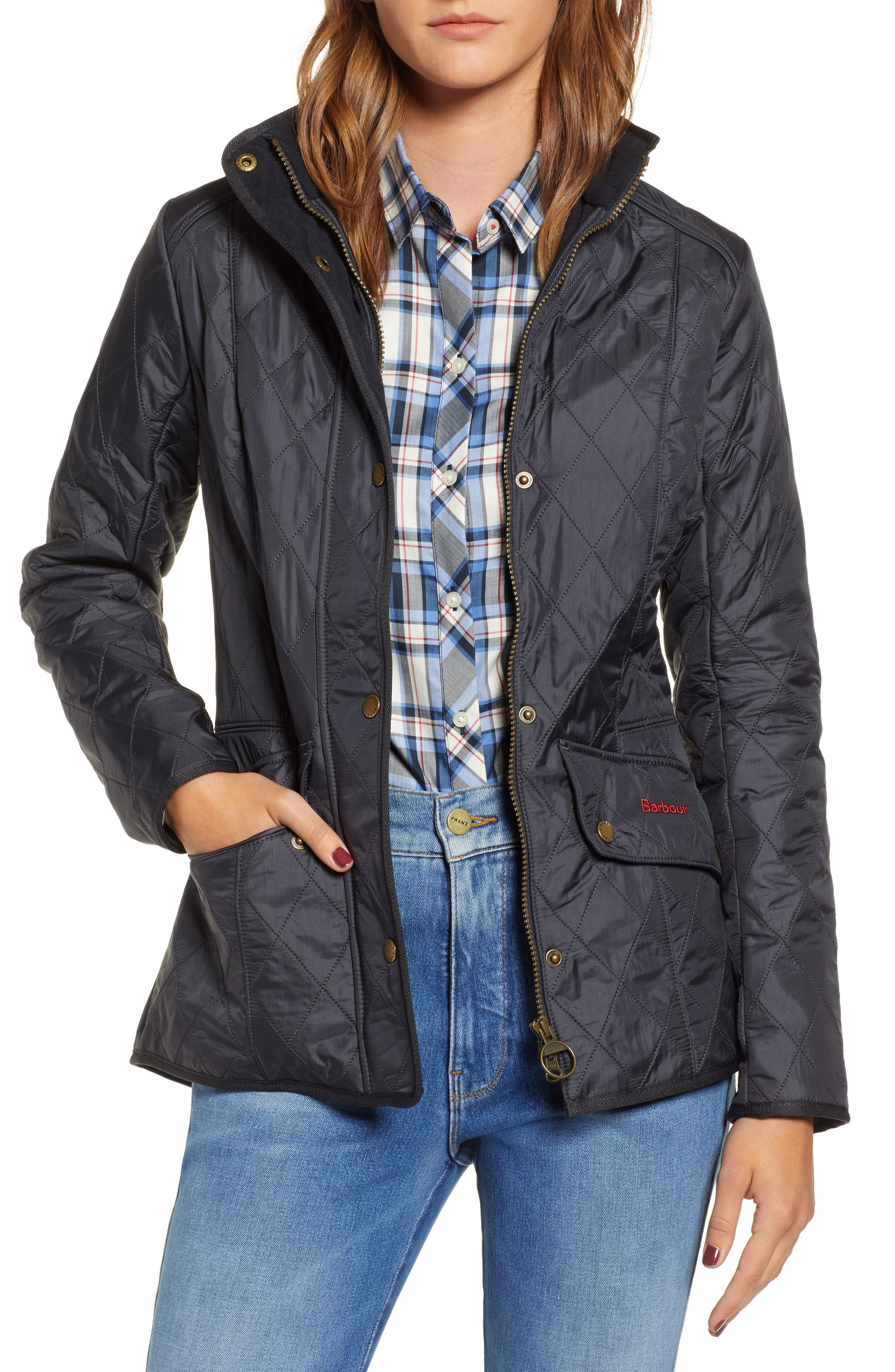 'Cavalry' Quilted Jacket,                             Alternate thumbnail 16, color,