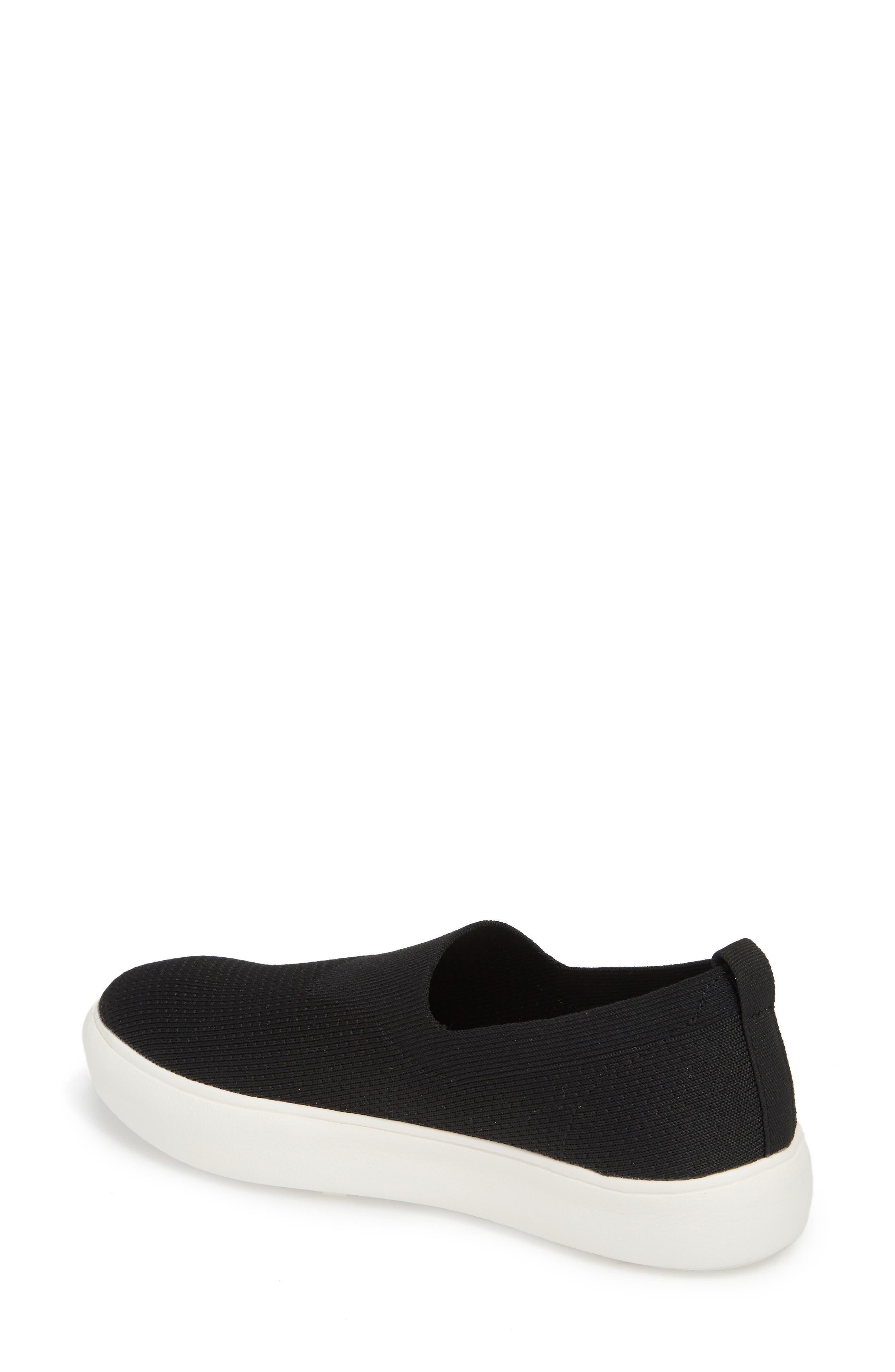 Hula Slip-On Sneaker,                             Alternate thumbnail 2, color,                             BLACK