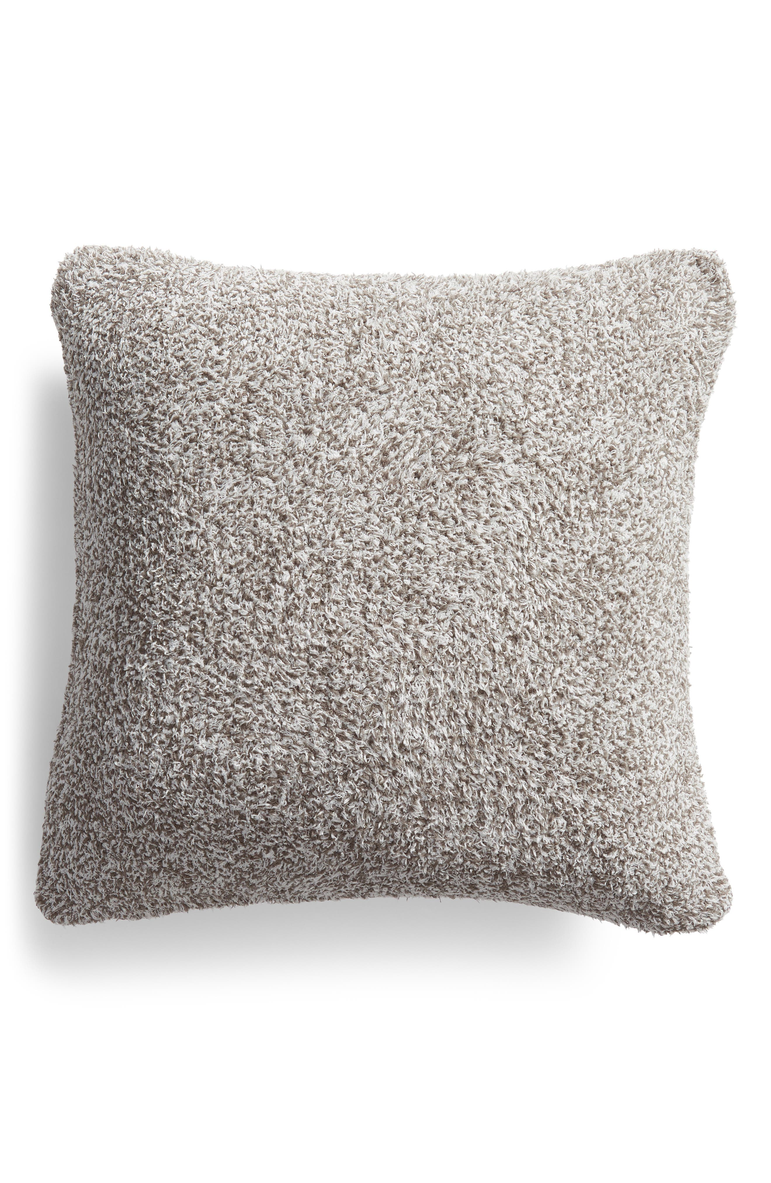 Cozychic<sup>®</sup> Heathered Accent Pillow,                         Main,                         color, CHARCOAL/ WHITE