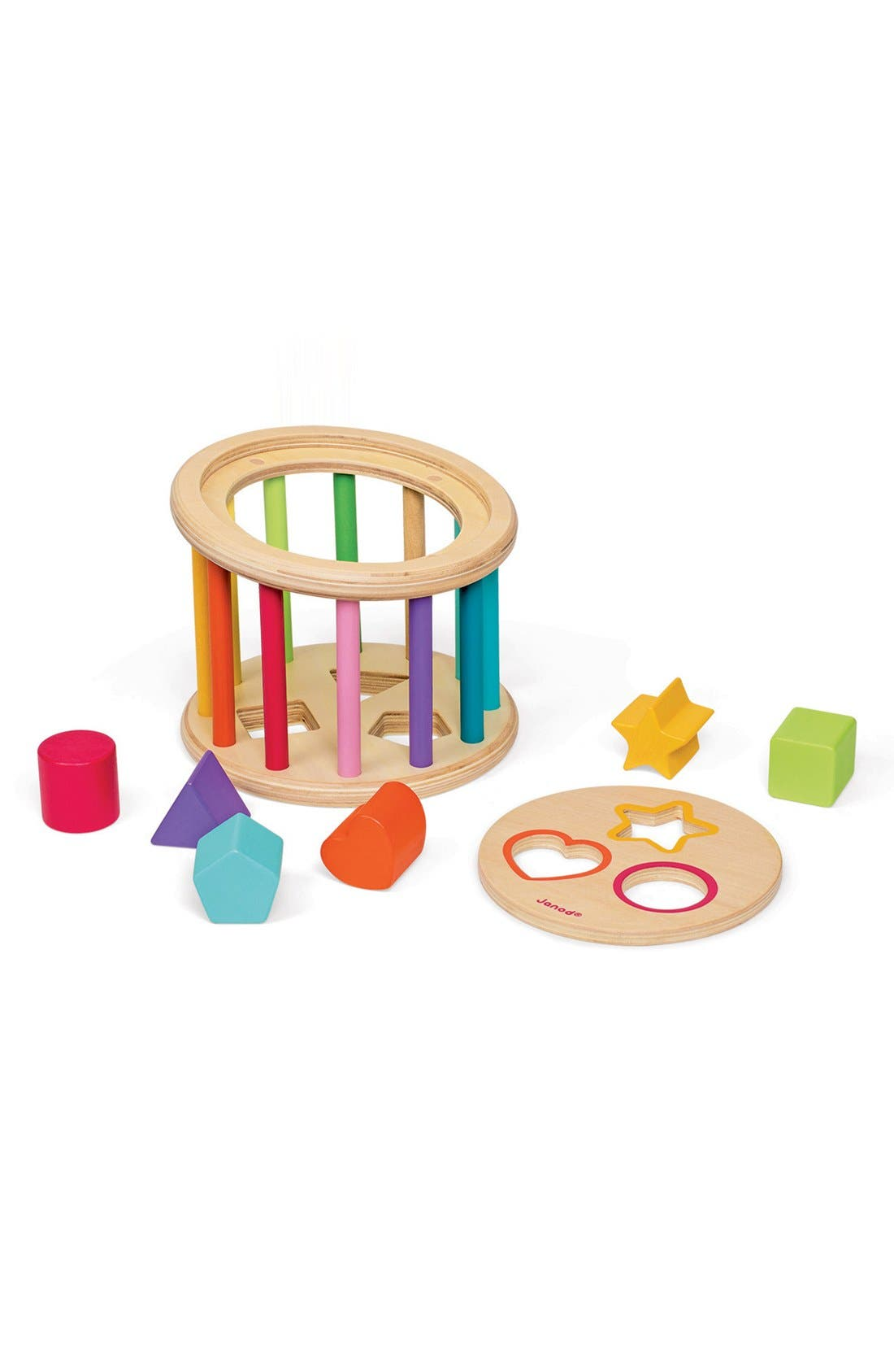 Wood Shape Sorter,                             Alternate thumbnail 4, color,                             650