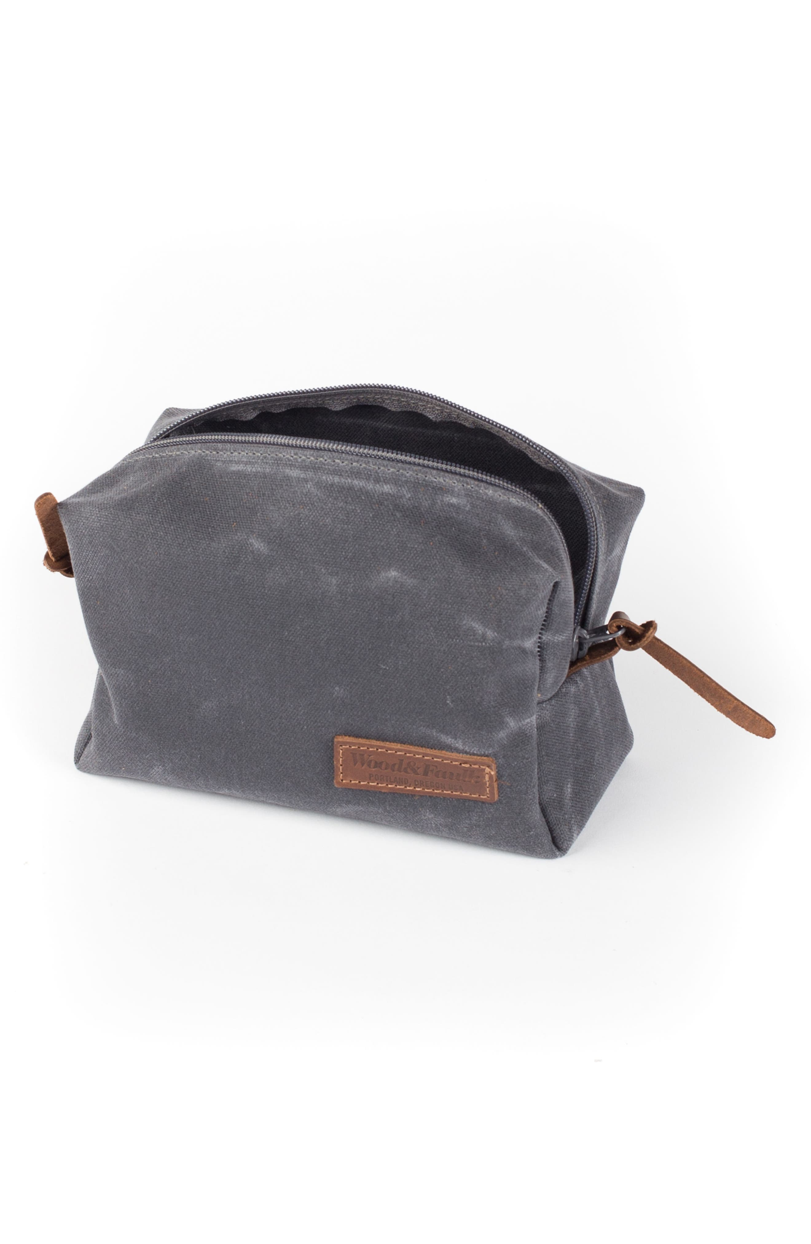 Traverse Waxed Canvas Dopp Kit,                             Alternate thumbnail 2, color,                             021