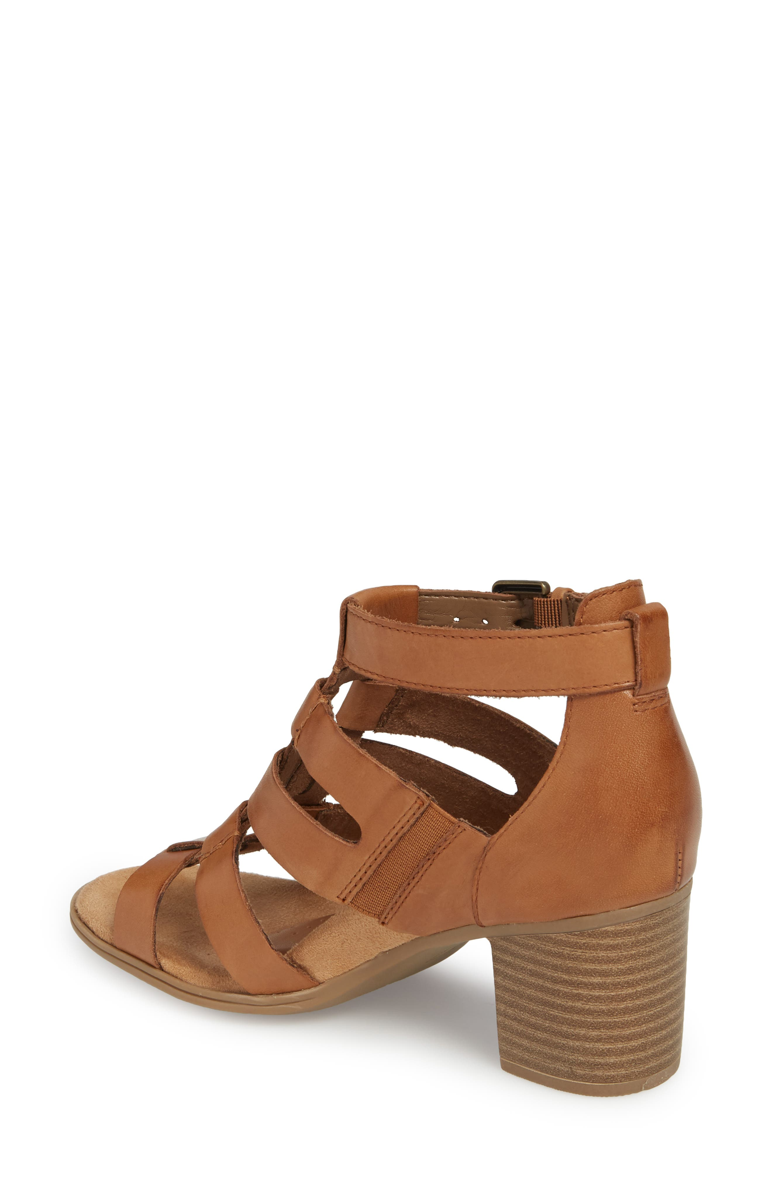 Hattie Block Heel Gladiator Sandal,                             Alternate thumbnail 2, color,                             231