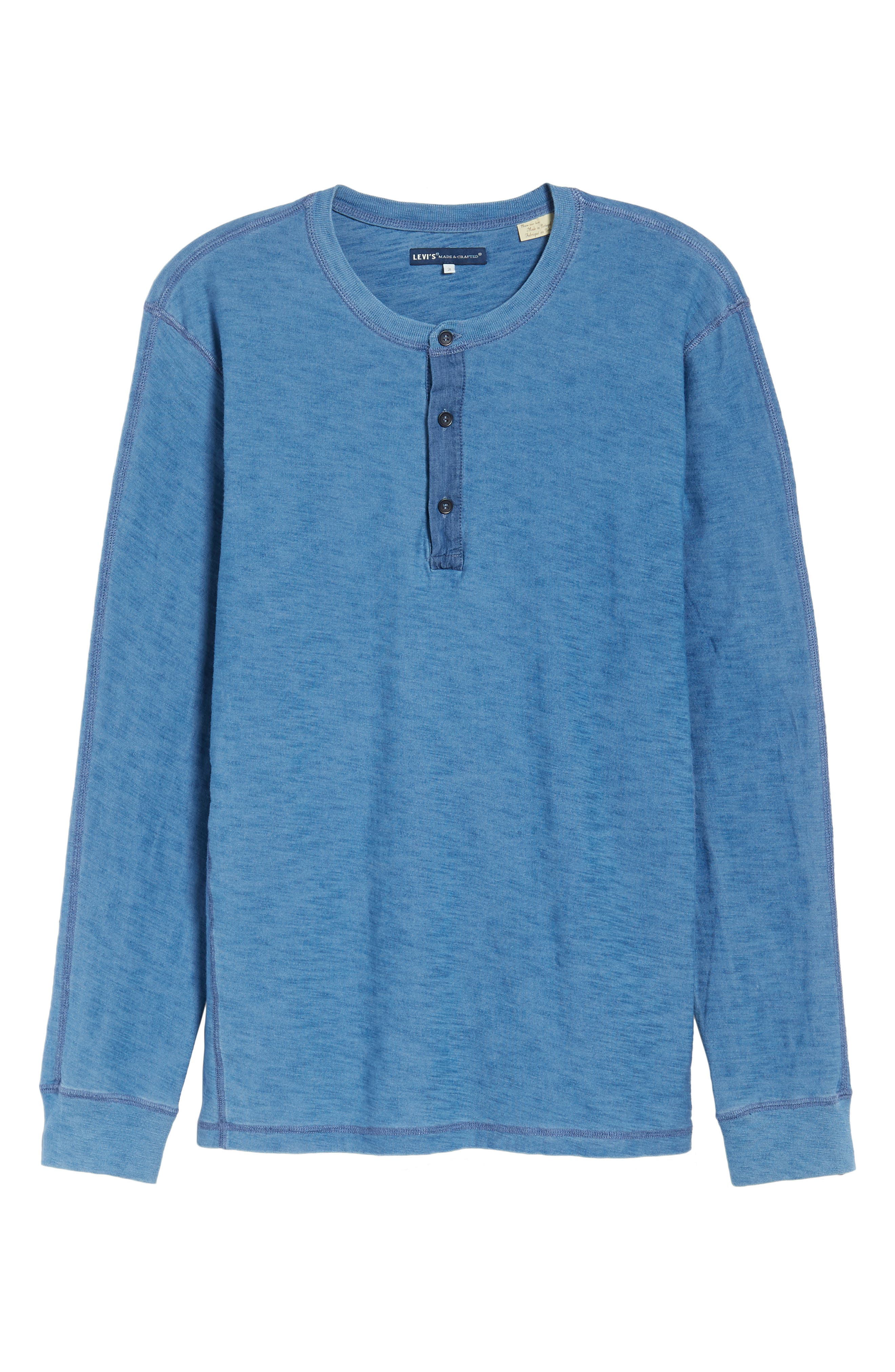 LEVI'S<SUP>®</SUP> MADE & CRAFTED<SUP>™</SUP>,                             Henley,                             Alternate thumbnail 6, color,                             420