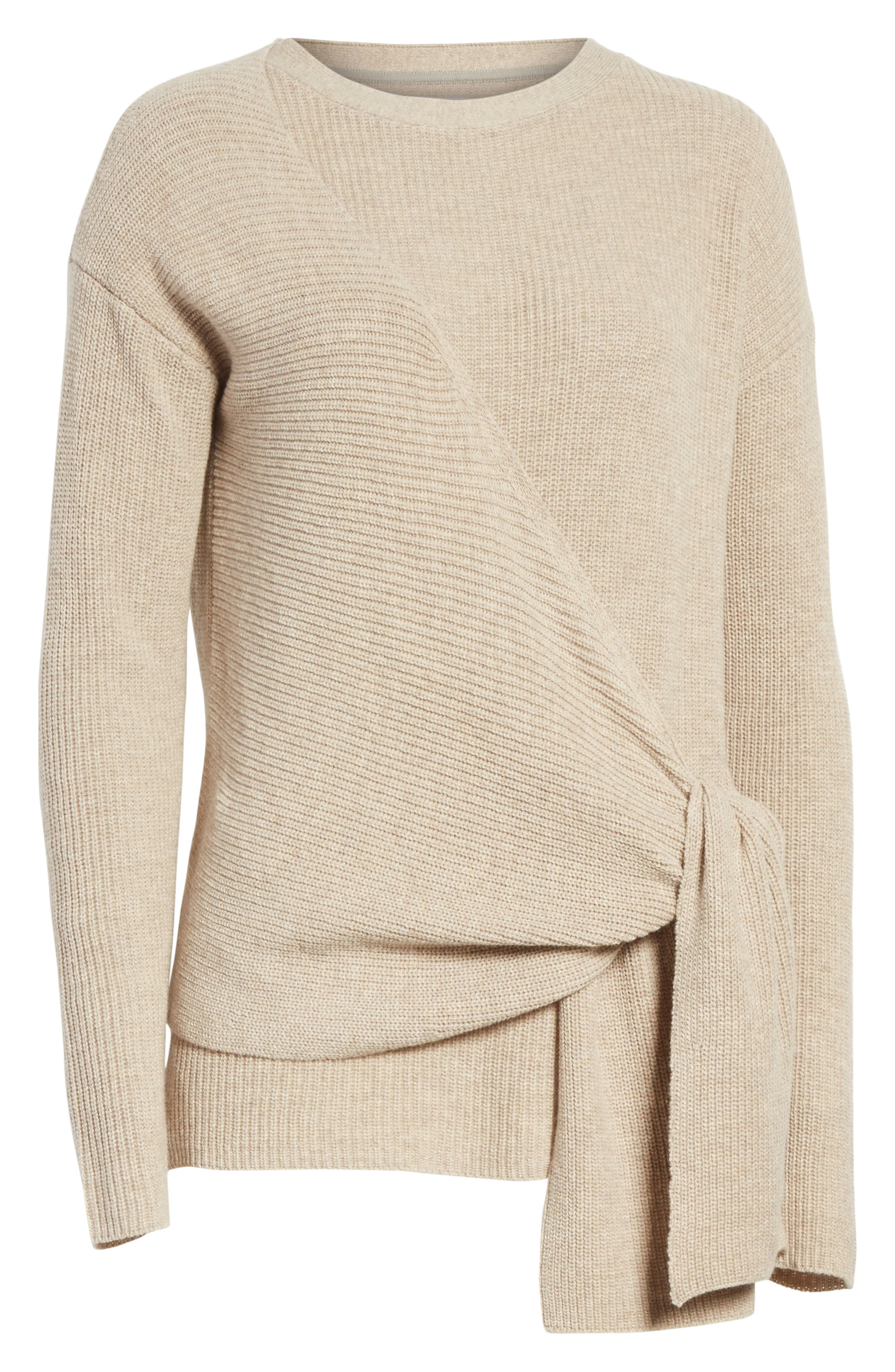Greys Wrap Sweater,                             Alternate thumbnail 6, color,                             270
