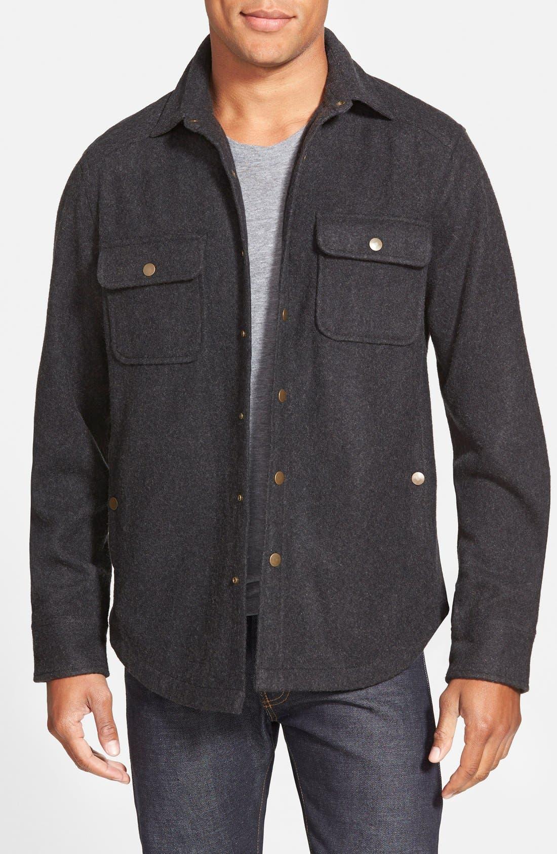 'CPO' Shirt Jacket, Main, color, 001
