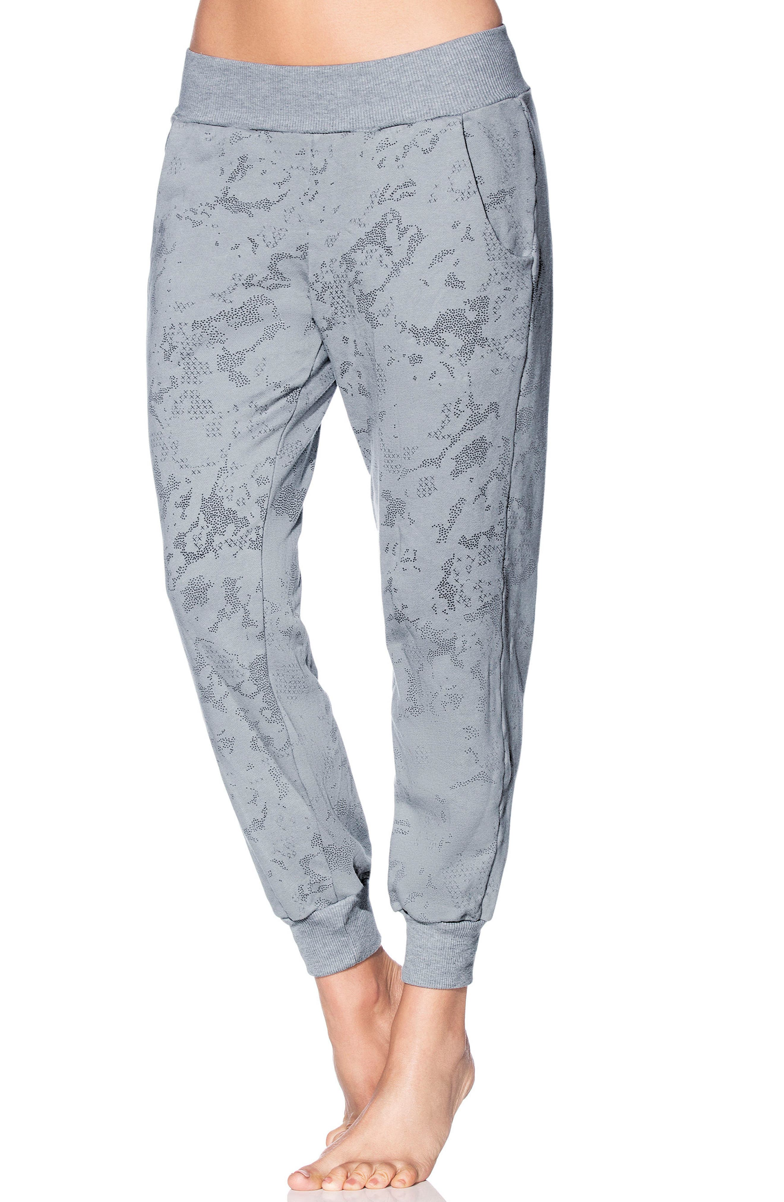 Swift Camo Granite Jogger Pants,                             Main thumbnail 1, color,                             MED GRAY