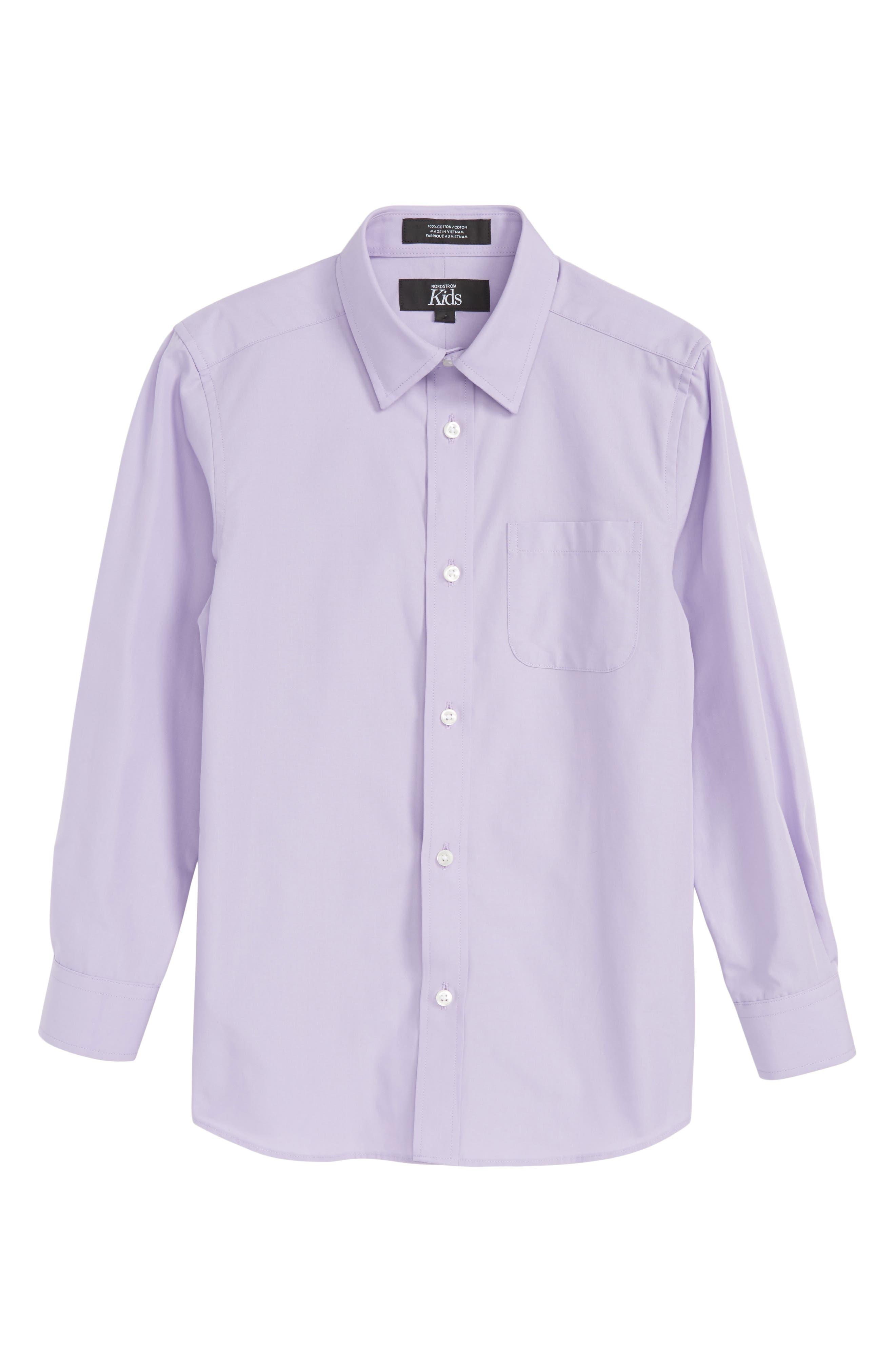 Lavender Spray Sport Shirt,                             Main thumbnail 1, color,                             530