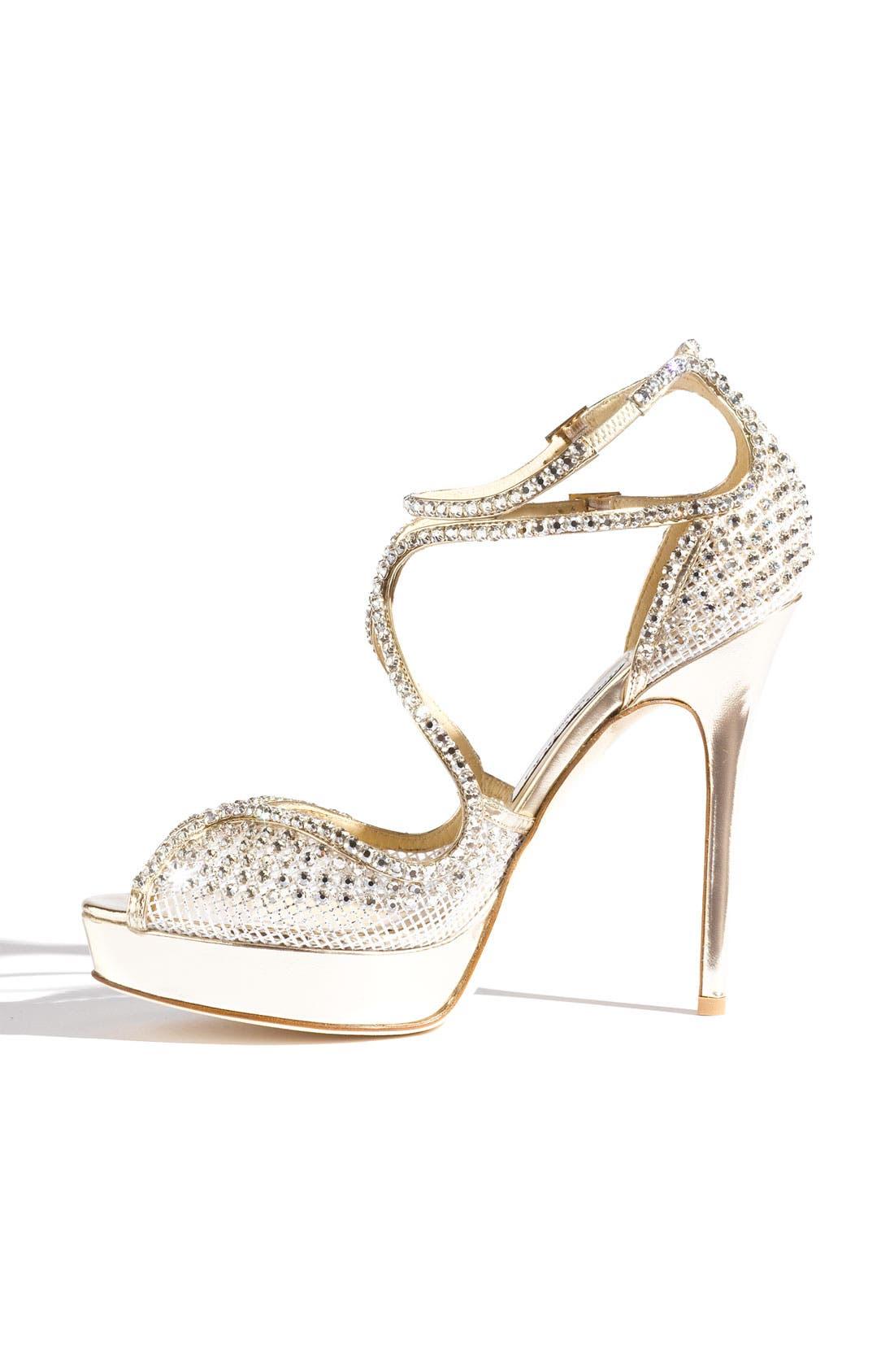 'Fairview' Crystal Embellished Sandal,                             Alternate thumbnail 3, color,                             040