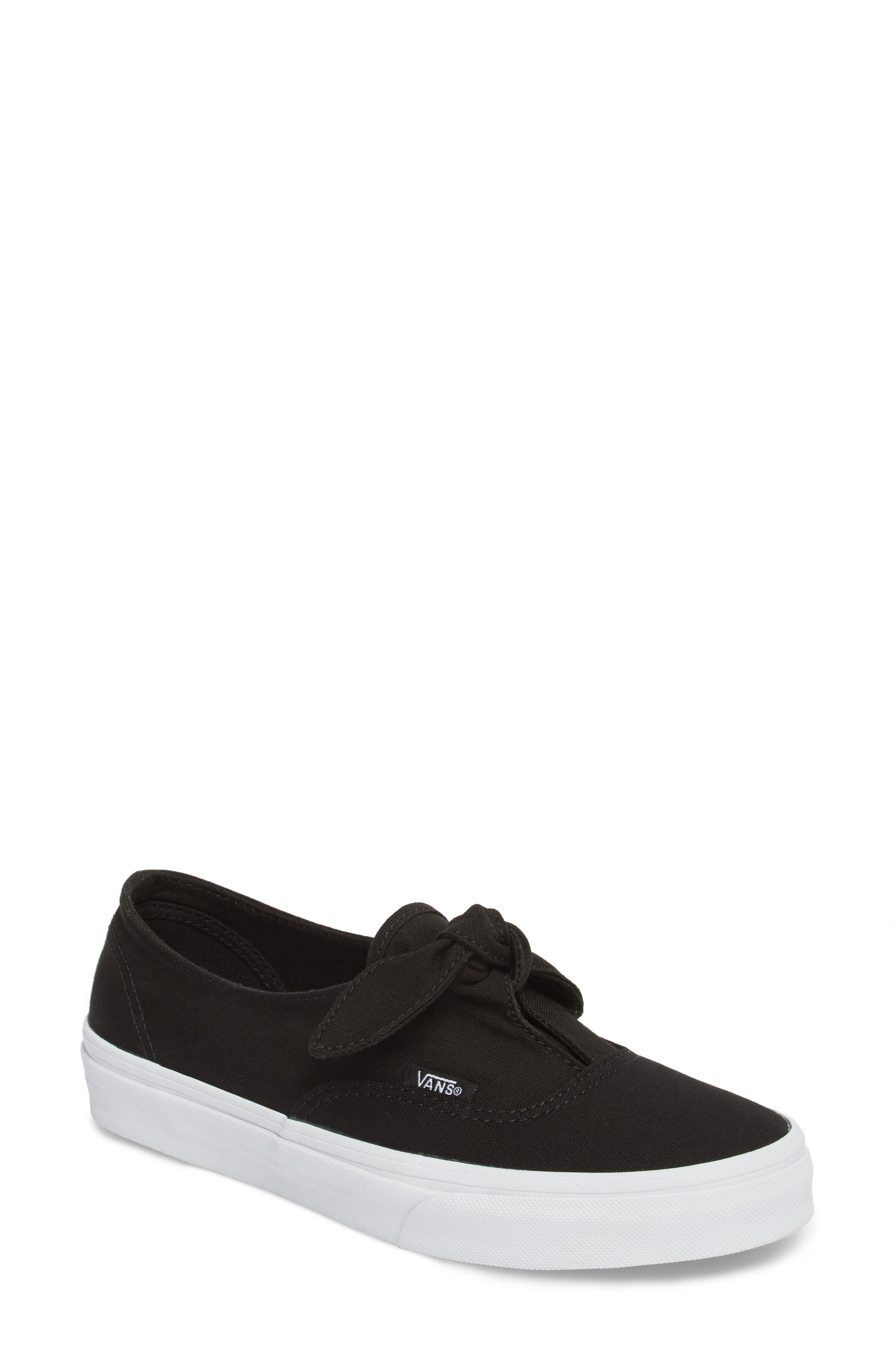 UA Authentic Knotted Slip-On Sneaker,                             Main thumbnail 1, color,                             001