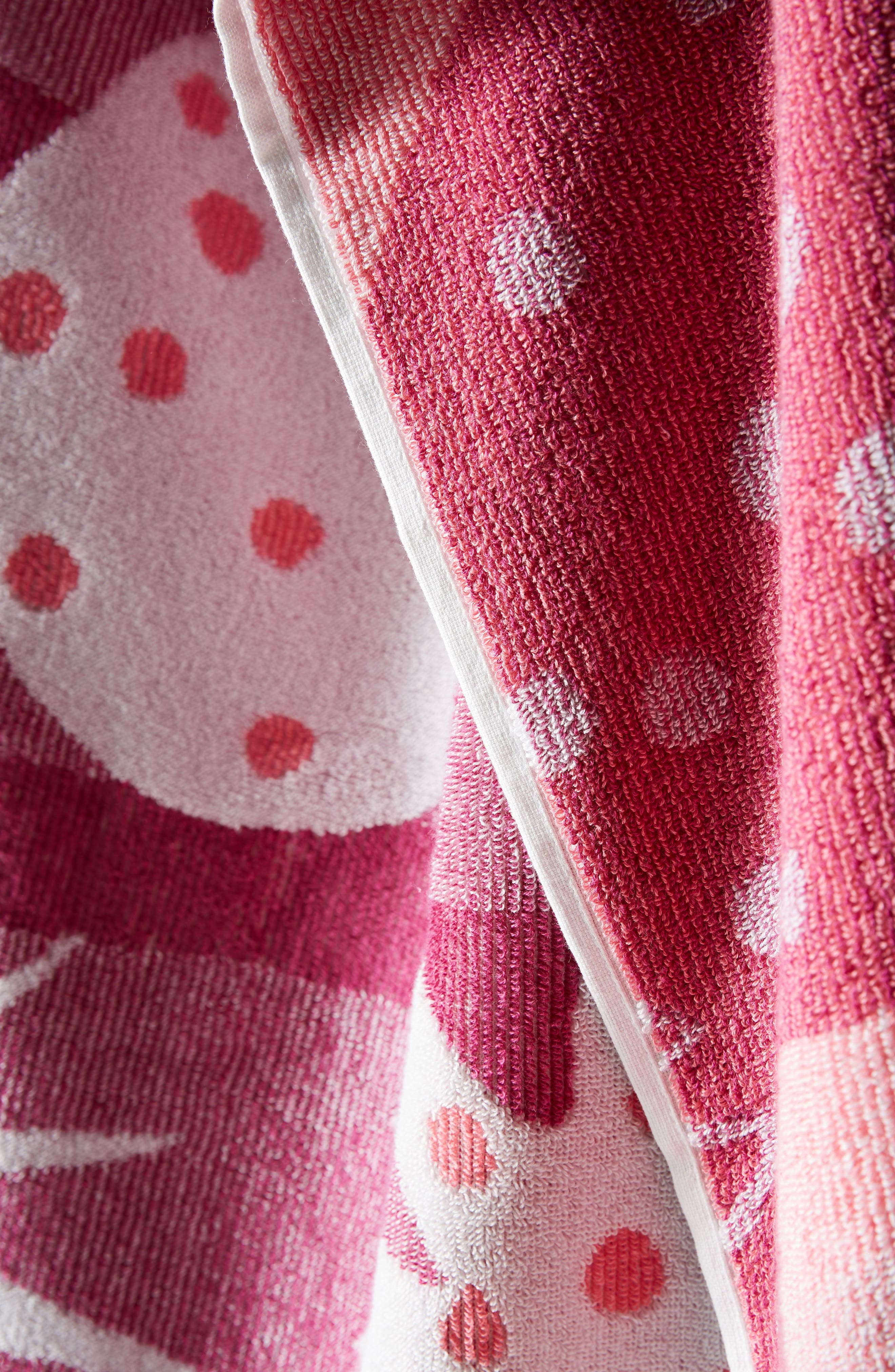 Kate Roebuck Beach Towel,                             Alternate thumbnail 2, color,                             ROSE
