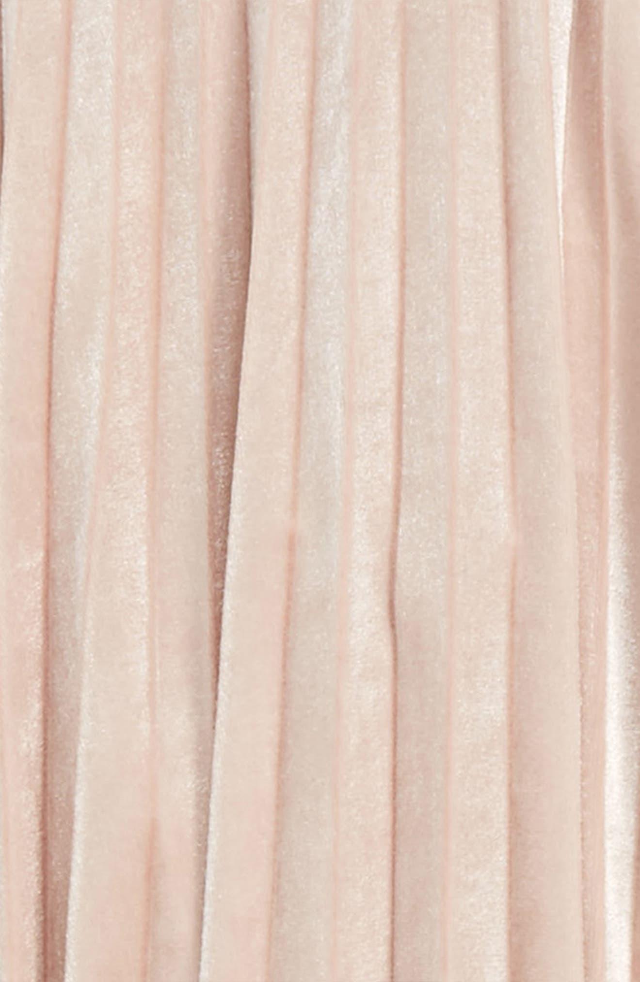 Velvet Pleated Skirt,                             Alternate thumbnail 2, color,                             684