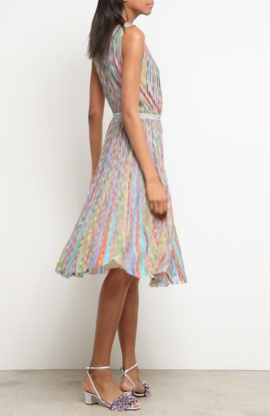 Alternate Video 6  - Missoni Surplice Neck Stripe Midi Dress