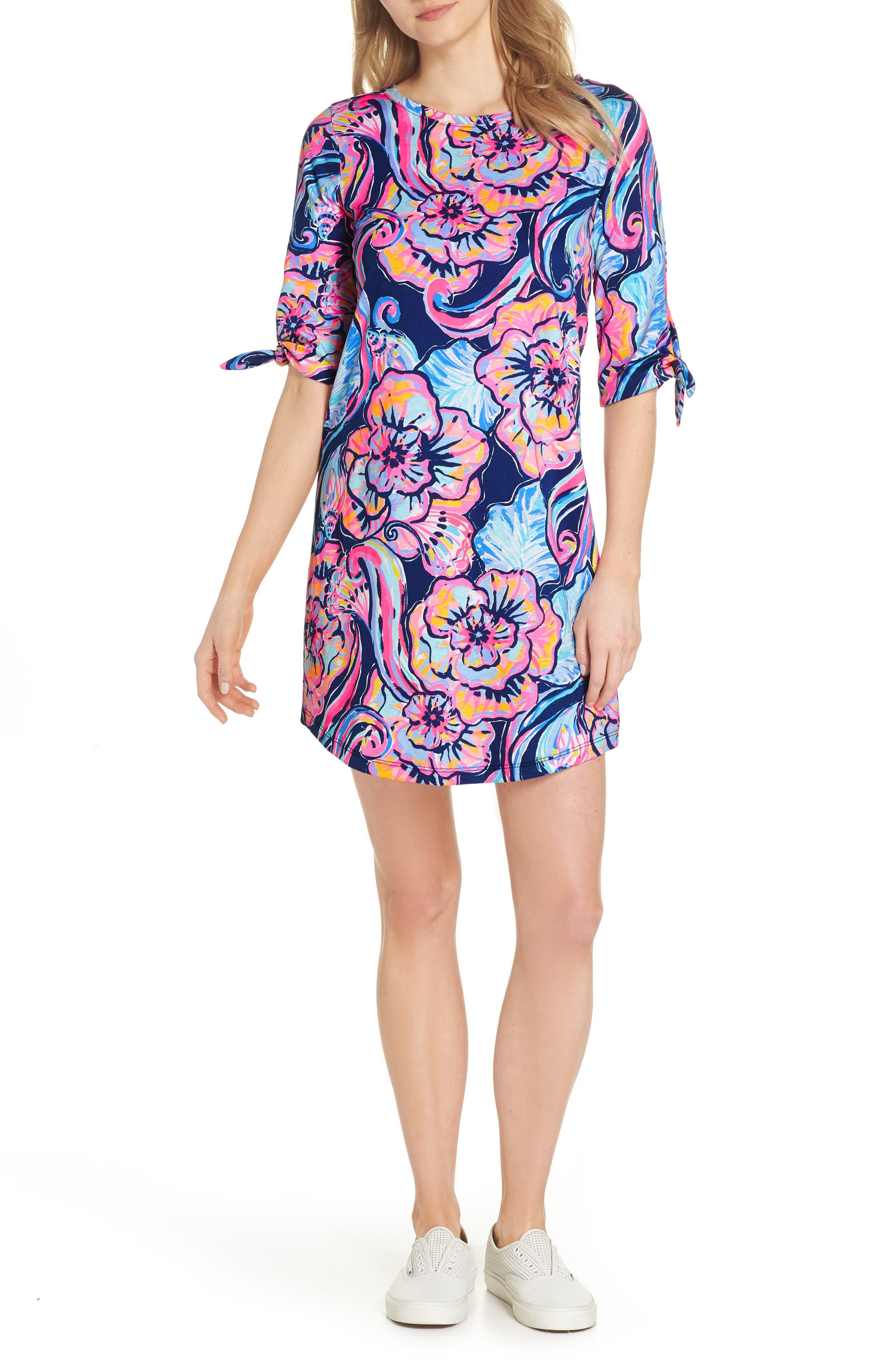 Preston Shift Dress,                         Main,                         color, 475