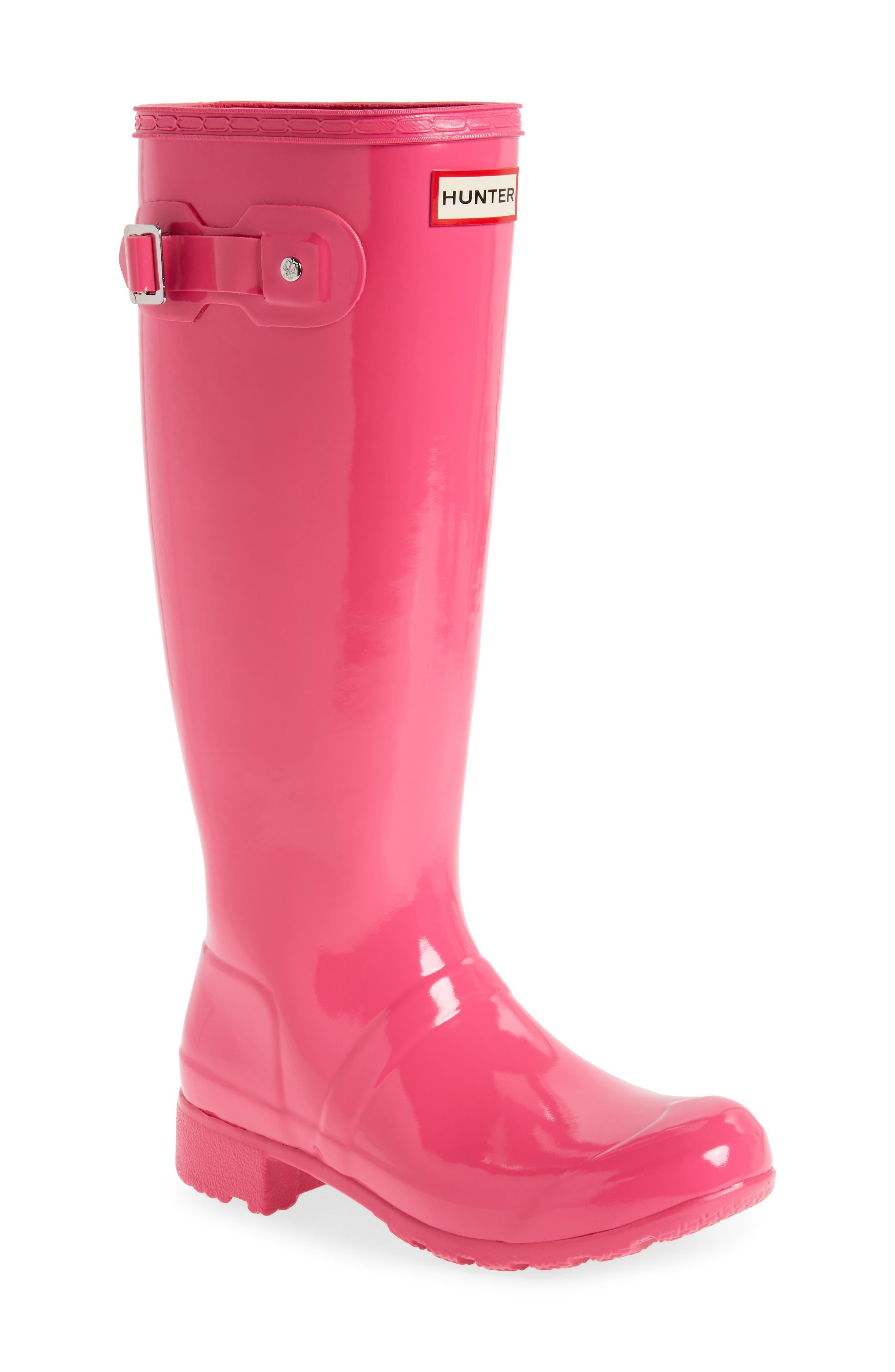 Original Tour Gloss Packable Rain Boot,                             Main thumbnail 3, color,