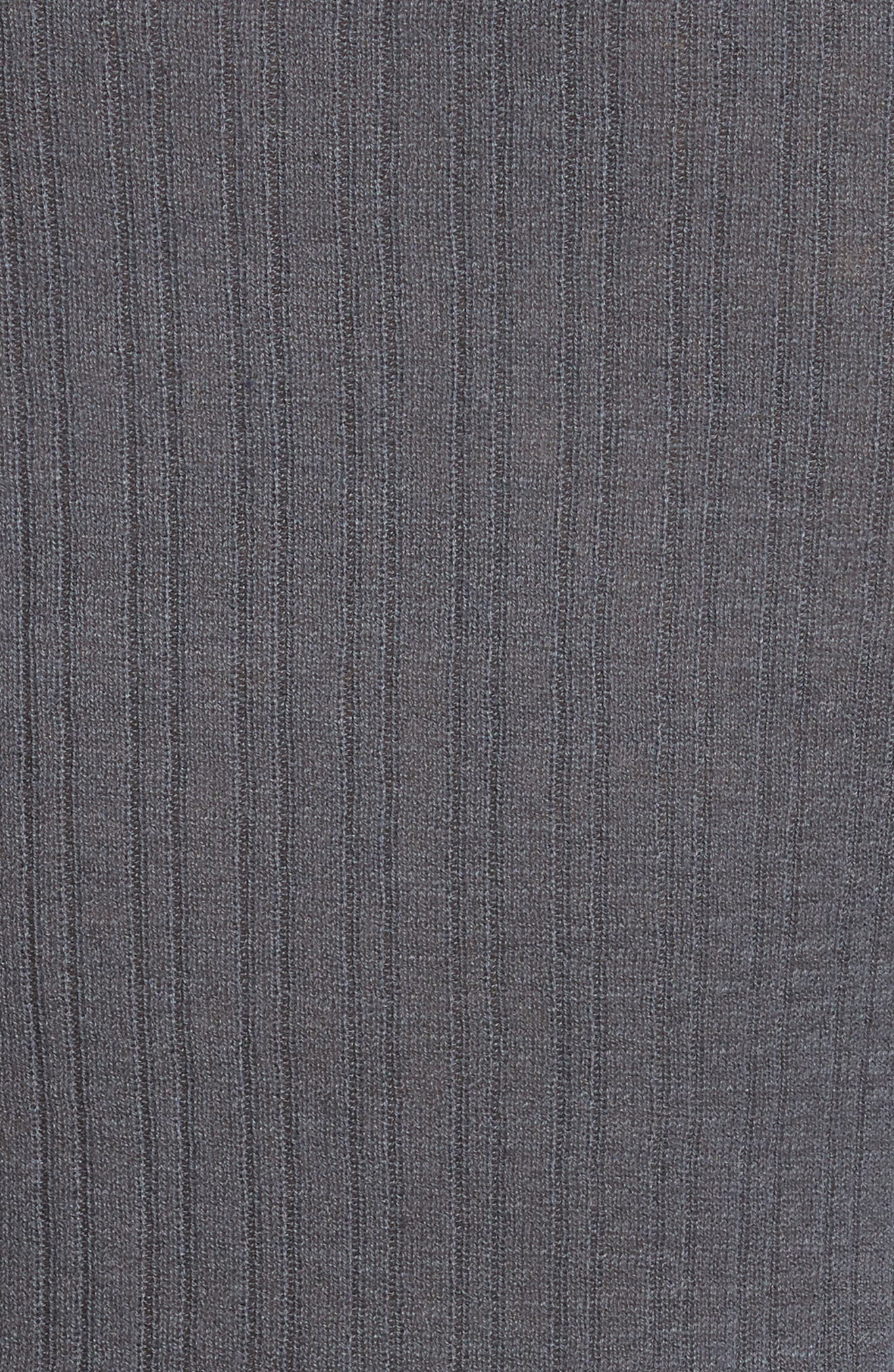 Ribbed Cashmere V-Neck Sweater,                             Alternate thumbnail 14, color,