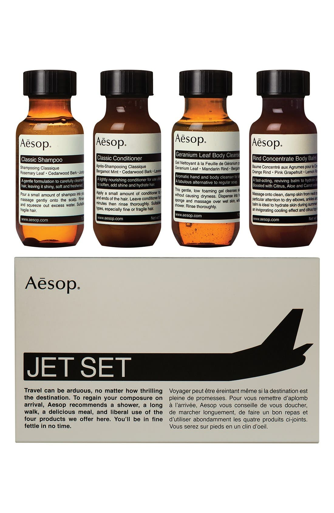 Jet Set Travel Kit,                         Main,                         color, NONE