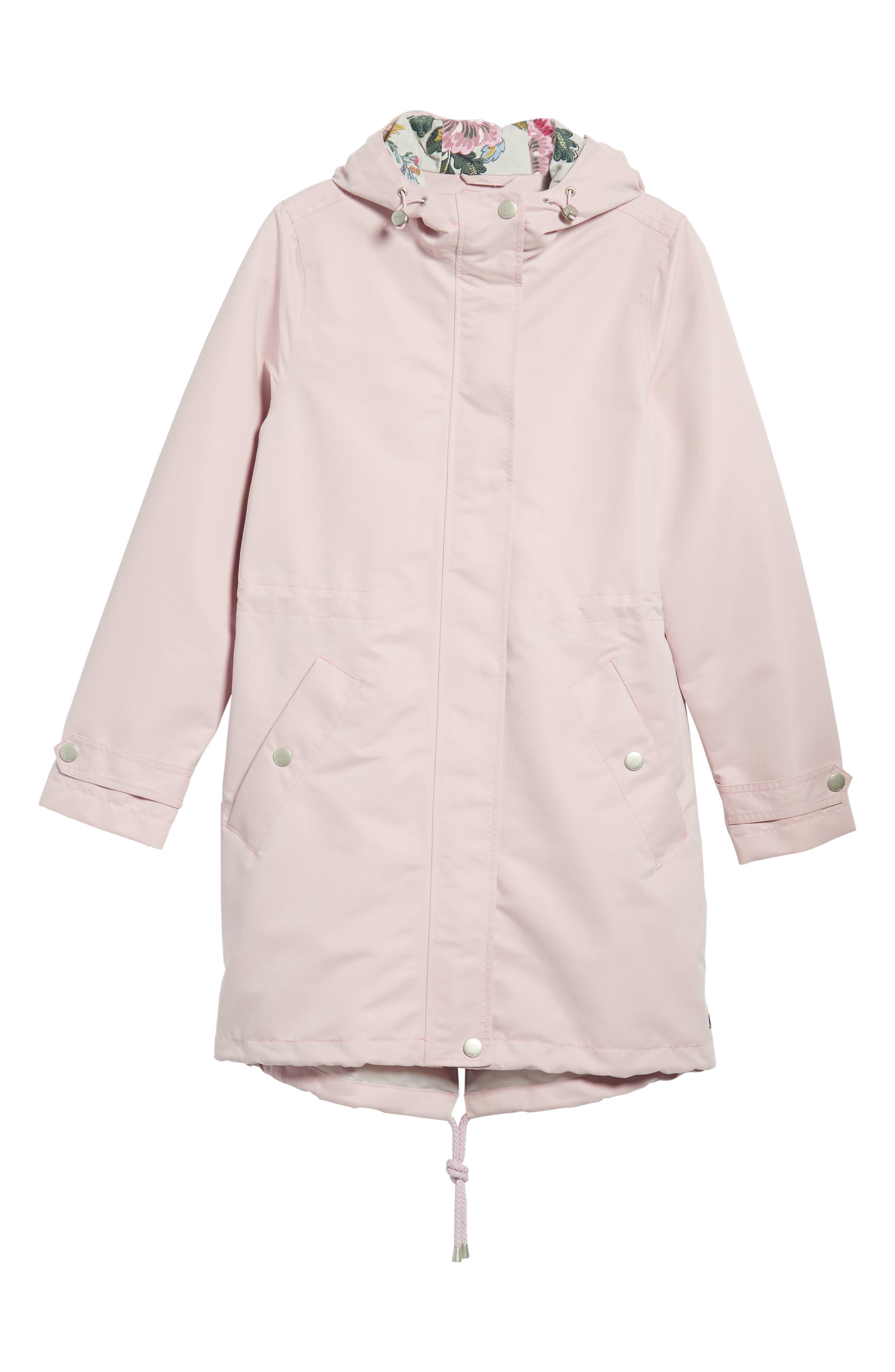 Right as Rain Long Line Hooded Waterproof Raincoat,                             Alternate thumbnail 6, color,                             531