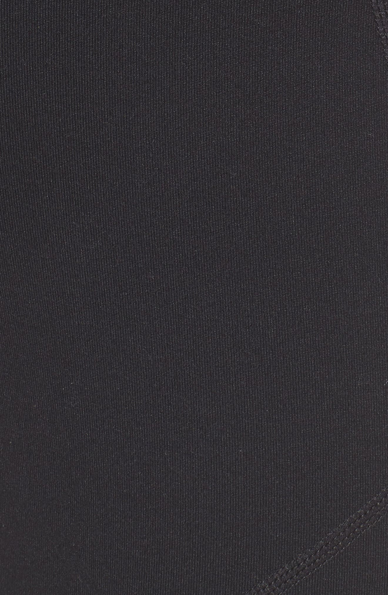 Zoey Zip Midi Leggings,                             Alternate thumbnail 6, color,