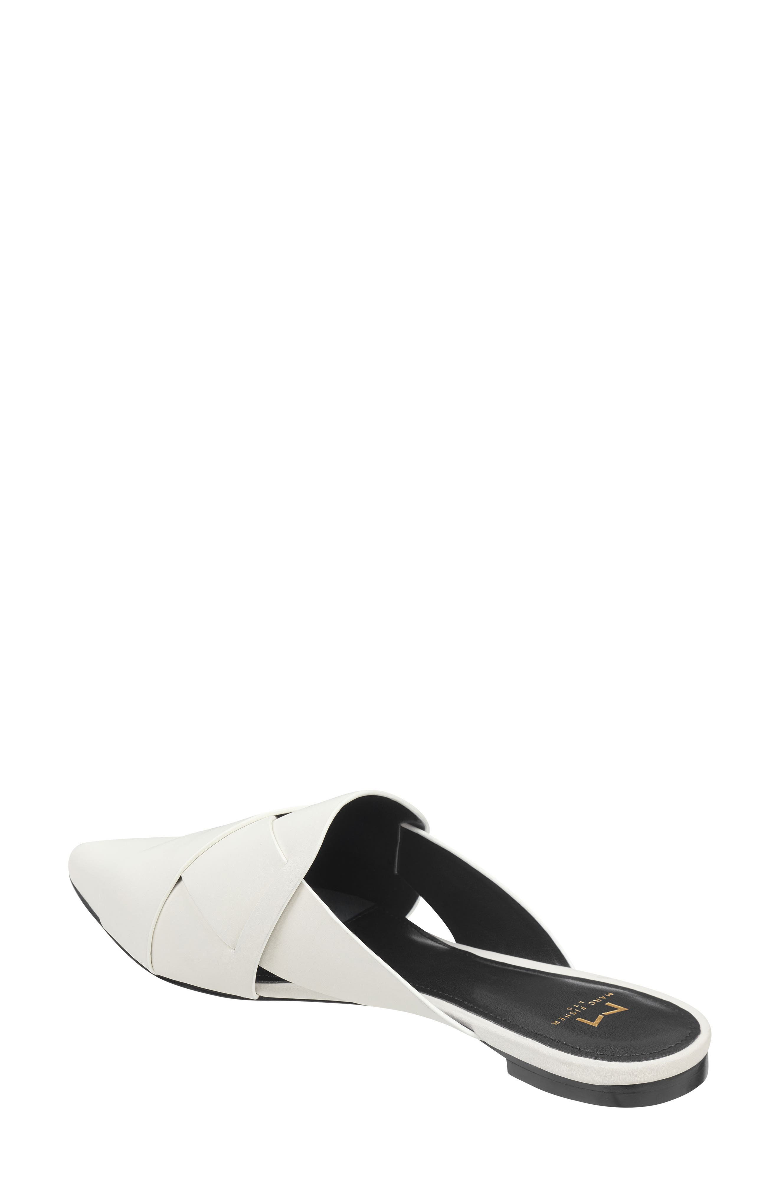 Sono Pointy Toe Mule,                             Alternate thumbnail 2, color,                             CHIC CREAM LEATHER