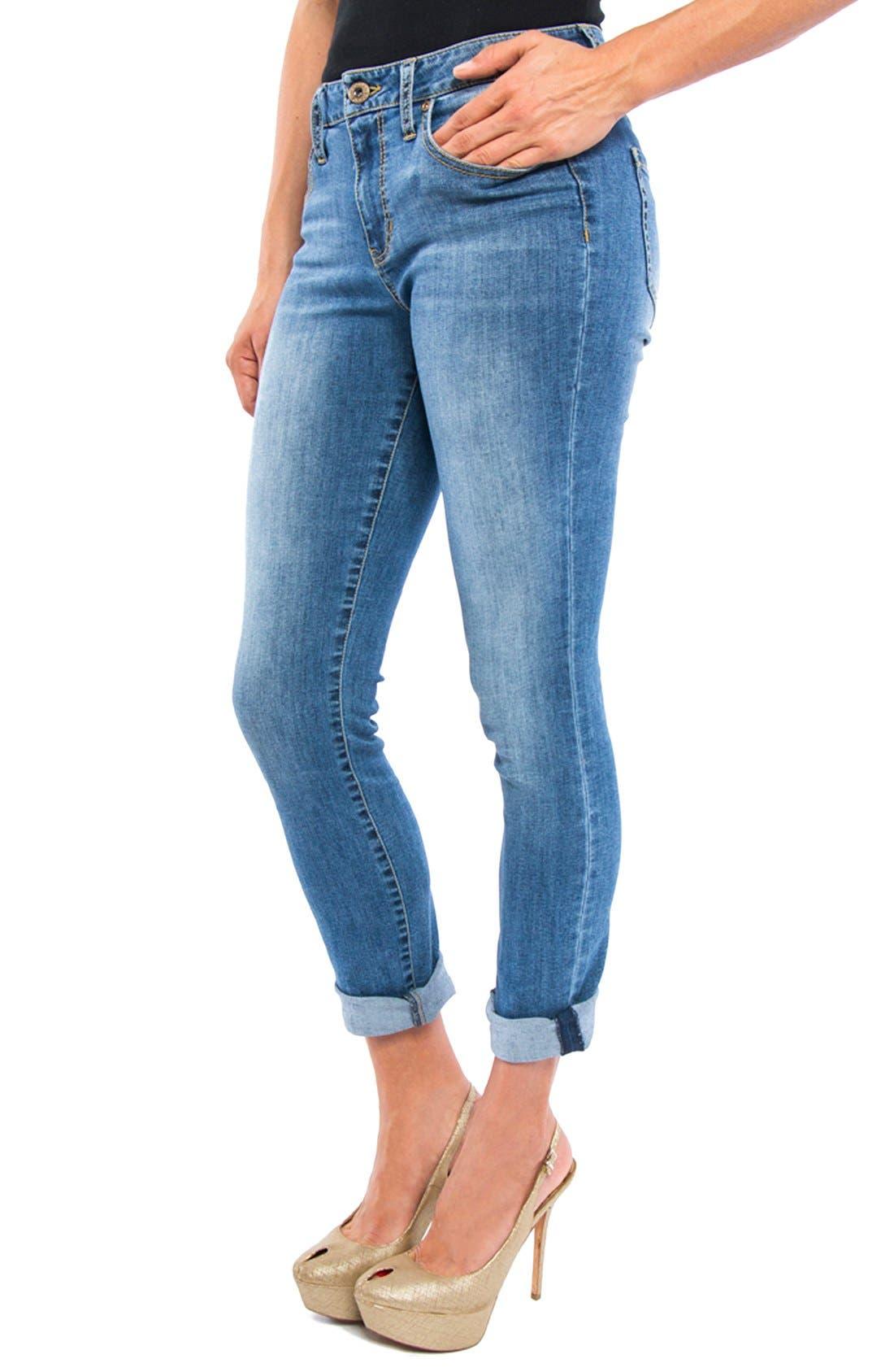 Peyton Slim Boyfriend Jeans,                             Alternate thumbnail 6, color,