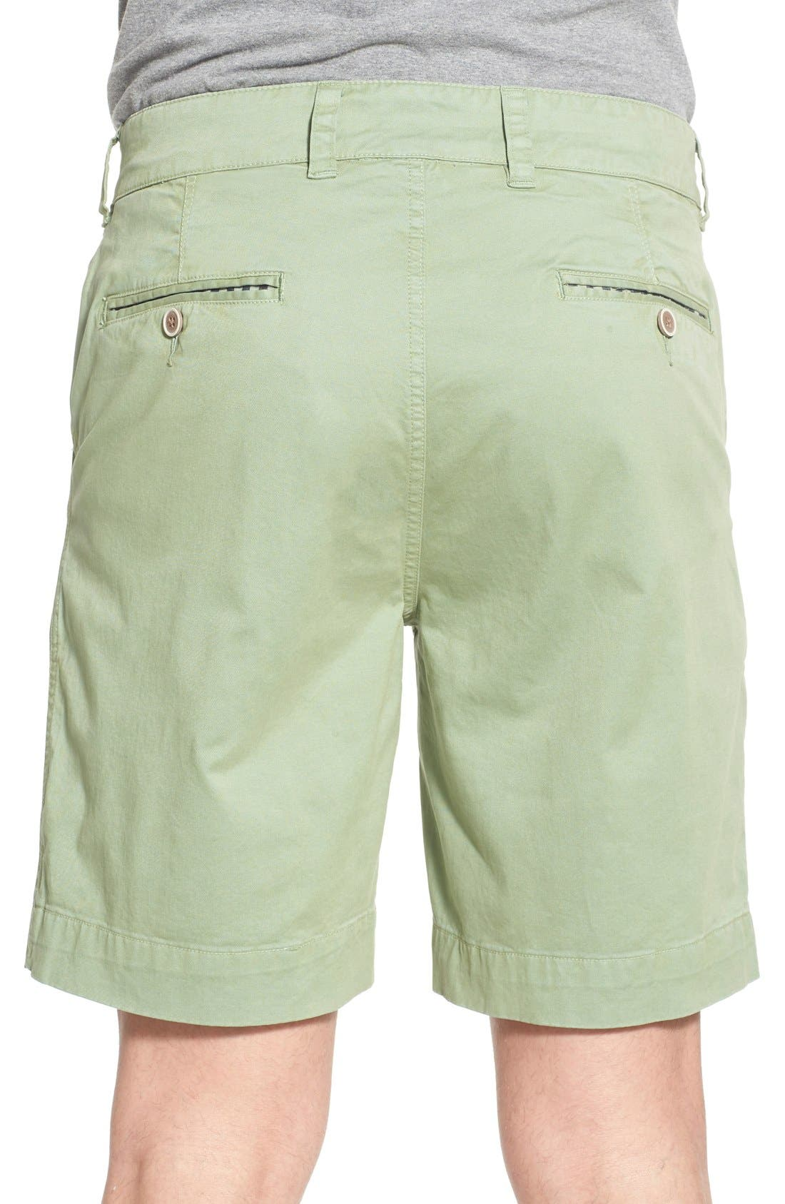 'Sunny' Stretch Chino Shorts,                             Alternate thumbnail 7, color,