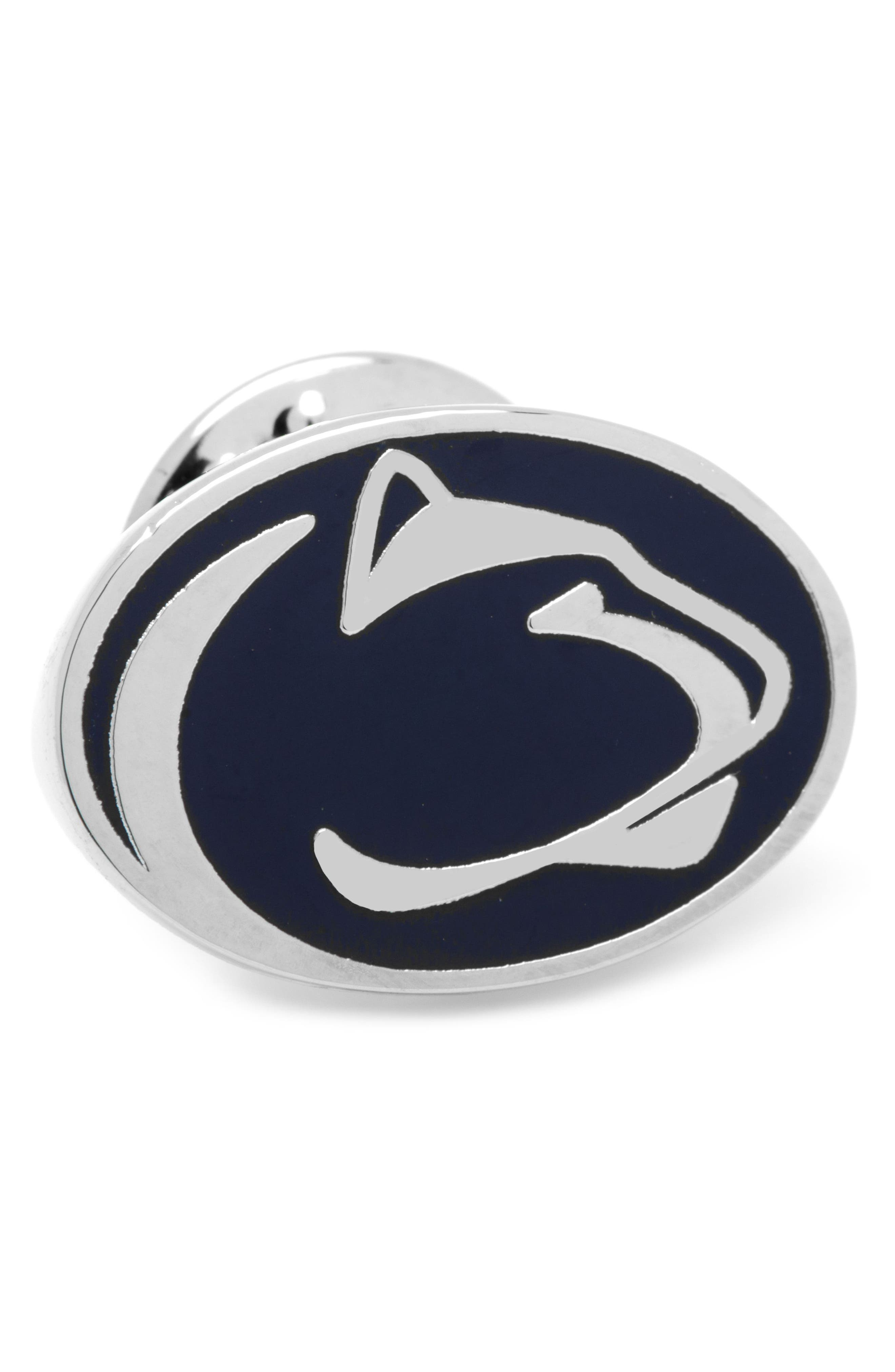 Penn State University Nittany Lions Lapel Pin,                         Main,                         color, BLUE