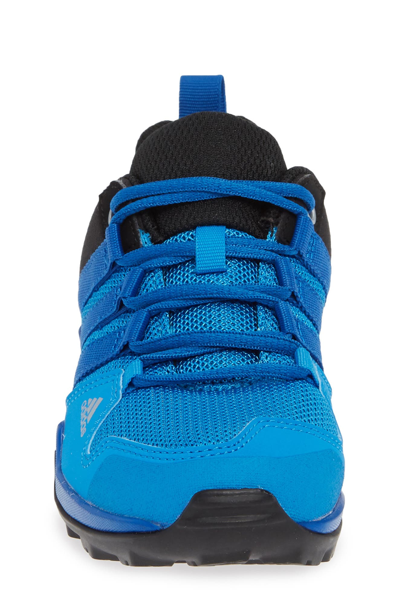 Terrex AX2R CP Sneaker,                             Alternate thumbnail 4, color,                             BLACK/ BLUE BEAUTY/ BLACK