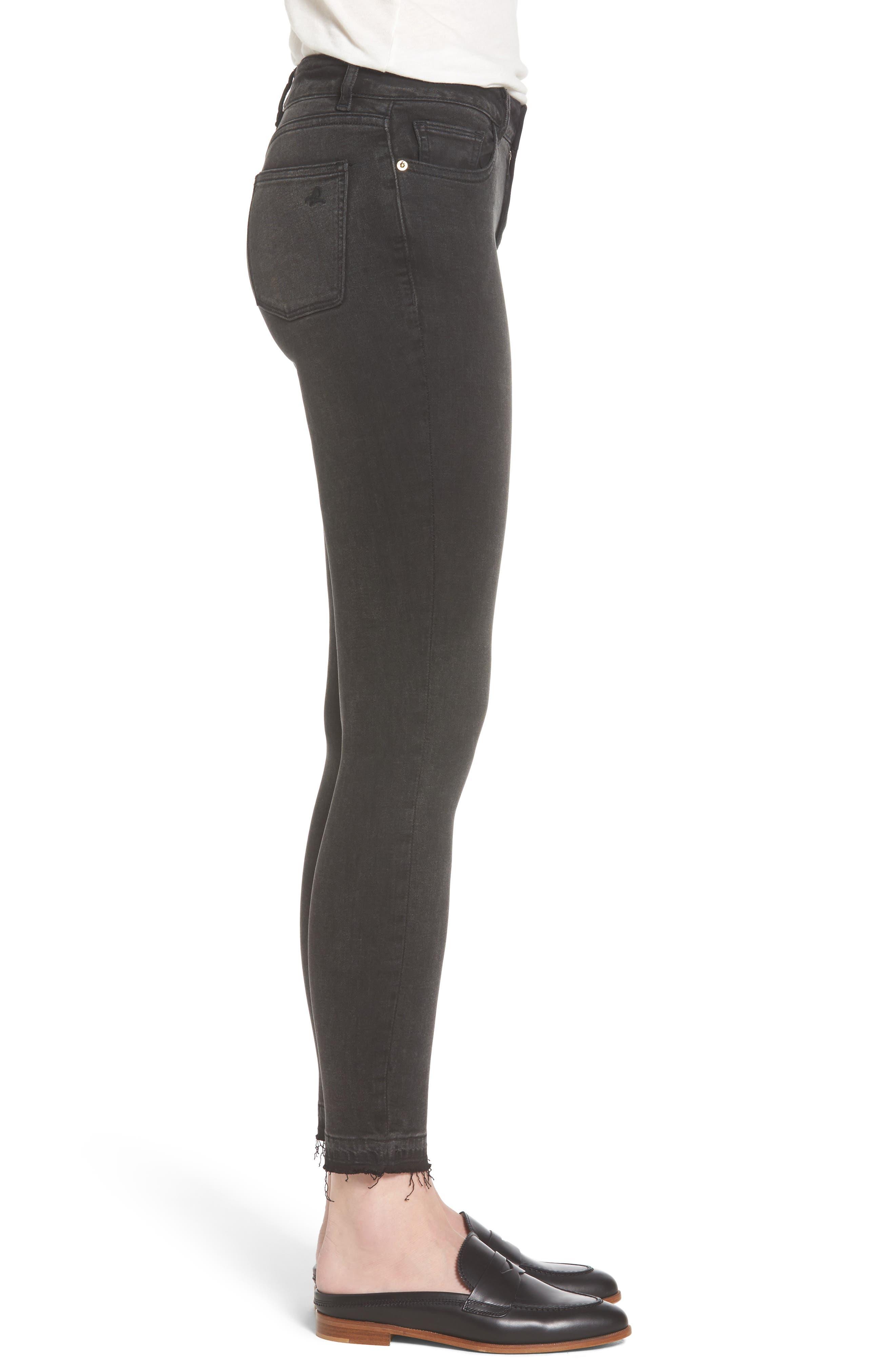 Margaux Instasculpt Ankle Skinny Jeans,                             Alternate thumbnail 3, color,