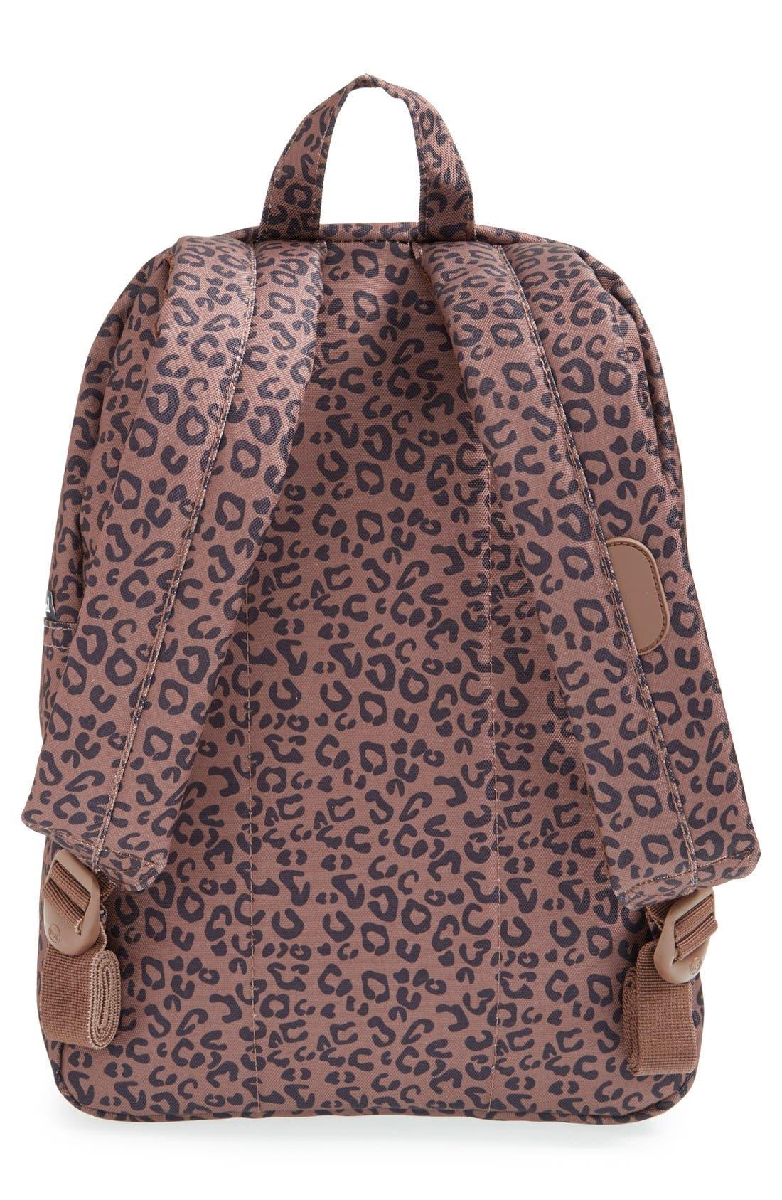 'Settlement - Leopard Print' Backpack,                             Alternate thumbnail 4, color,                             001