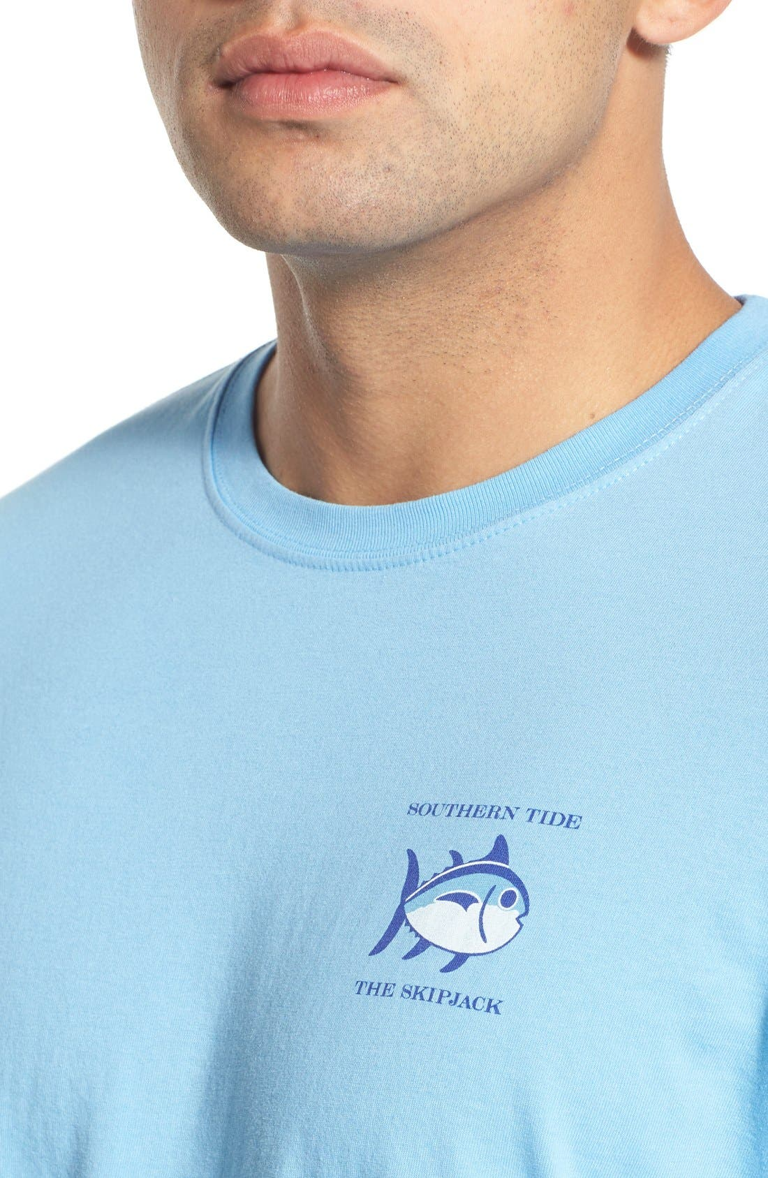 'Skipjack'Long Sleeve Graphic T-Shirt,                             Alternate thumbnail 41, color,
