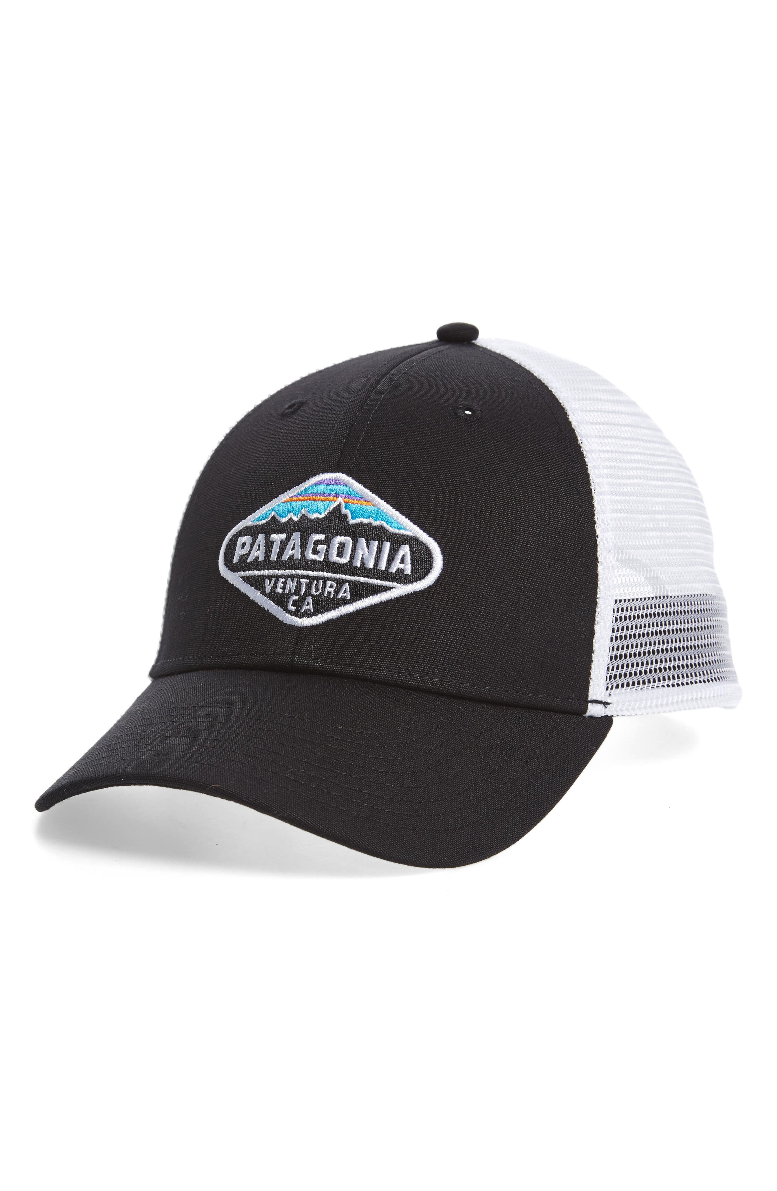 'FitzRoy Crest' Trucker Hat,                             Main thumbnail 1, color,                             001