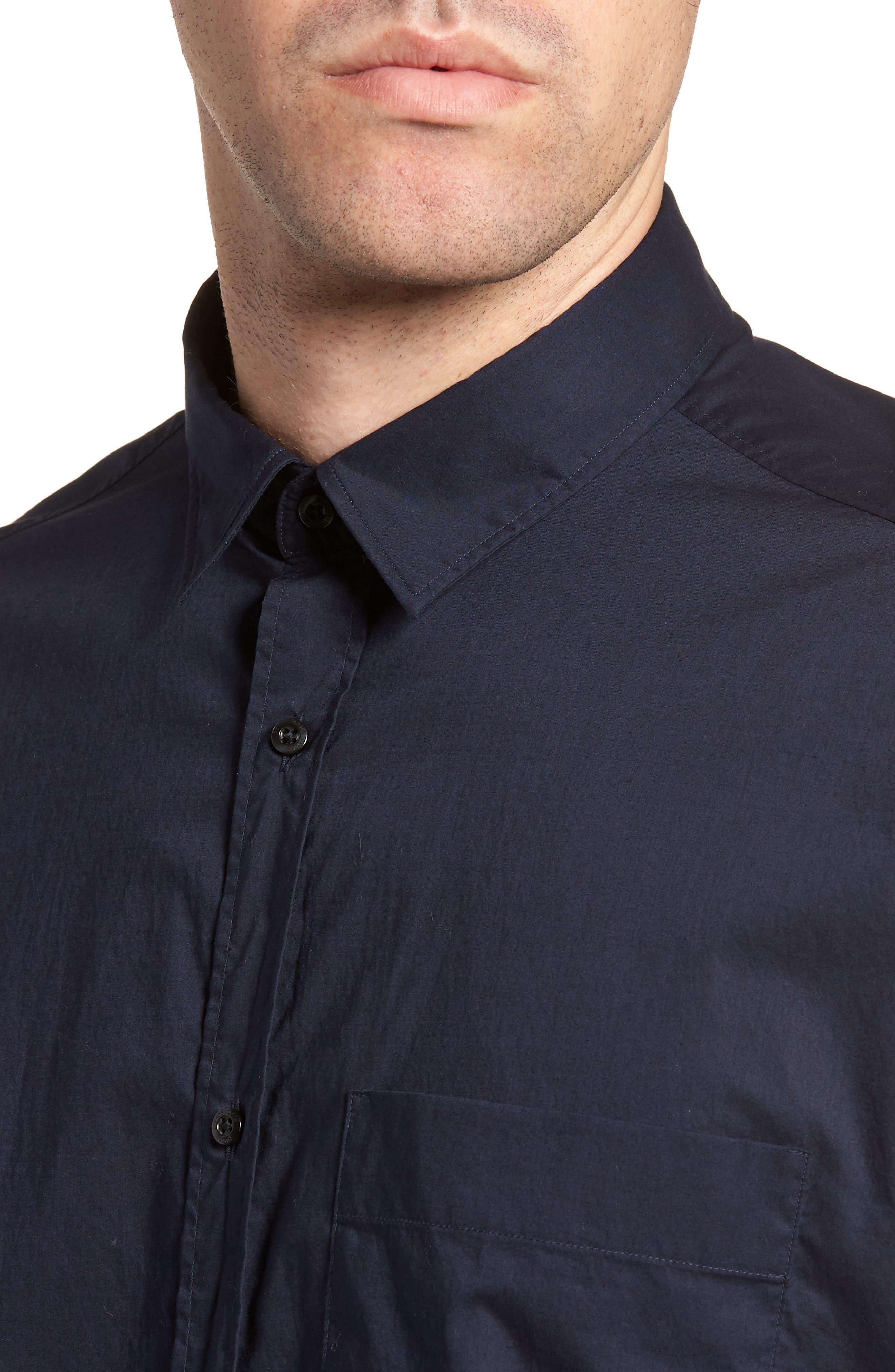 Eynold Oversized Short Sleeve Sport Shirt,                             Alternate thumbnail 4, color,                             413
