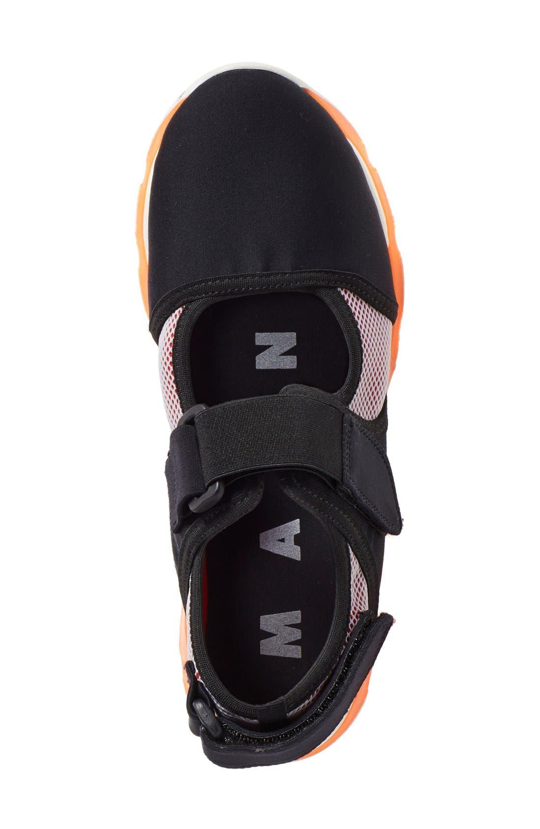Mary Jane Sneaker,                             Alternate thumbnail 4, color,                             020