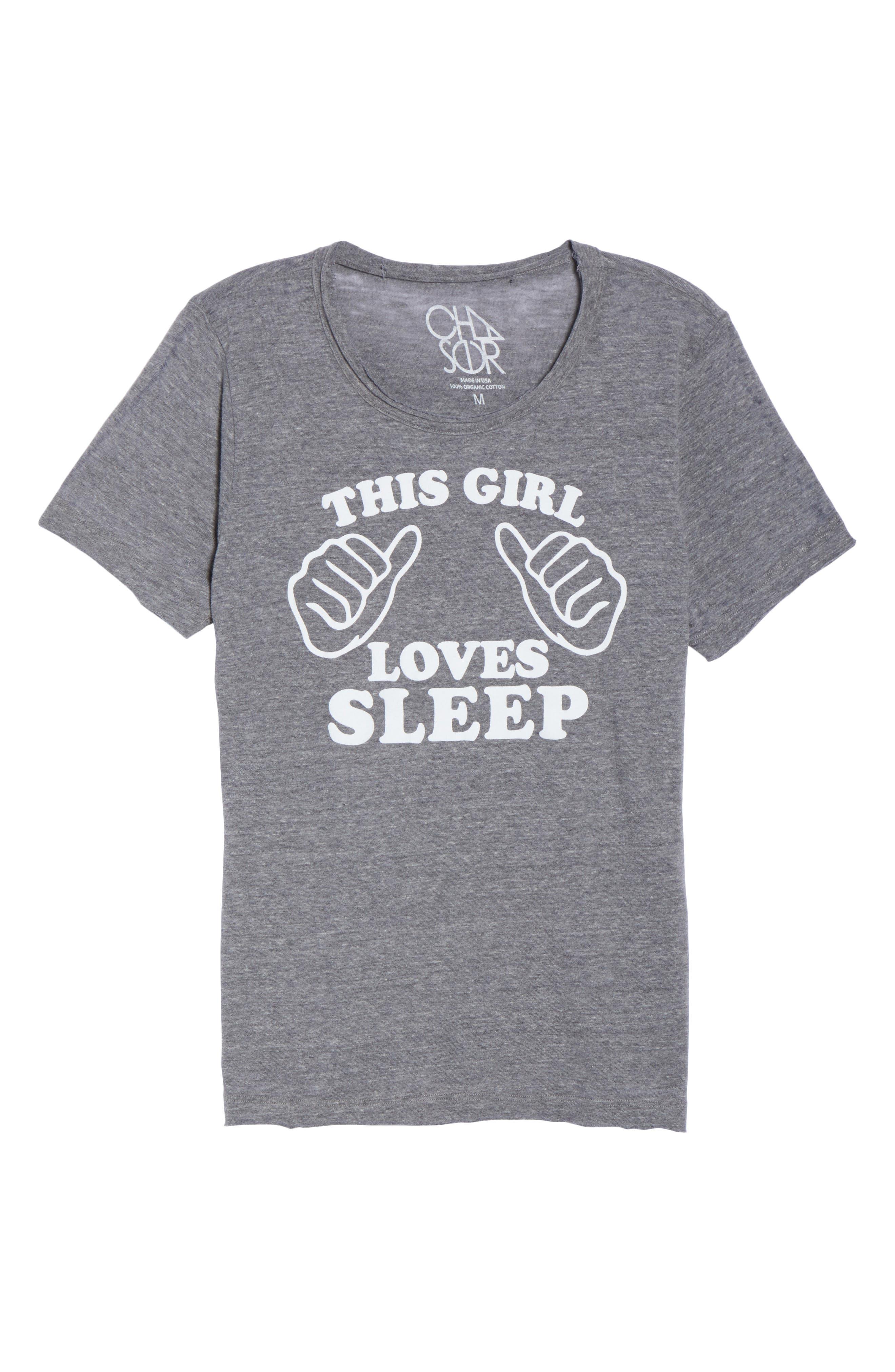 This Girl Loves Sleep Tee,                             Alternate thumbnail 6, color,                             035