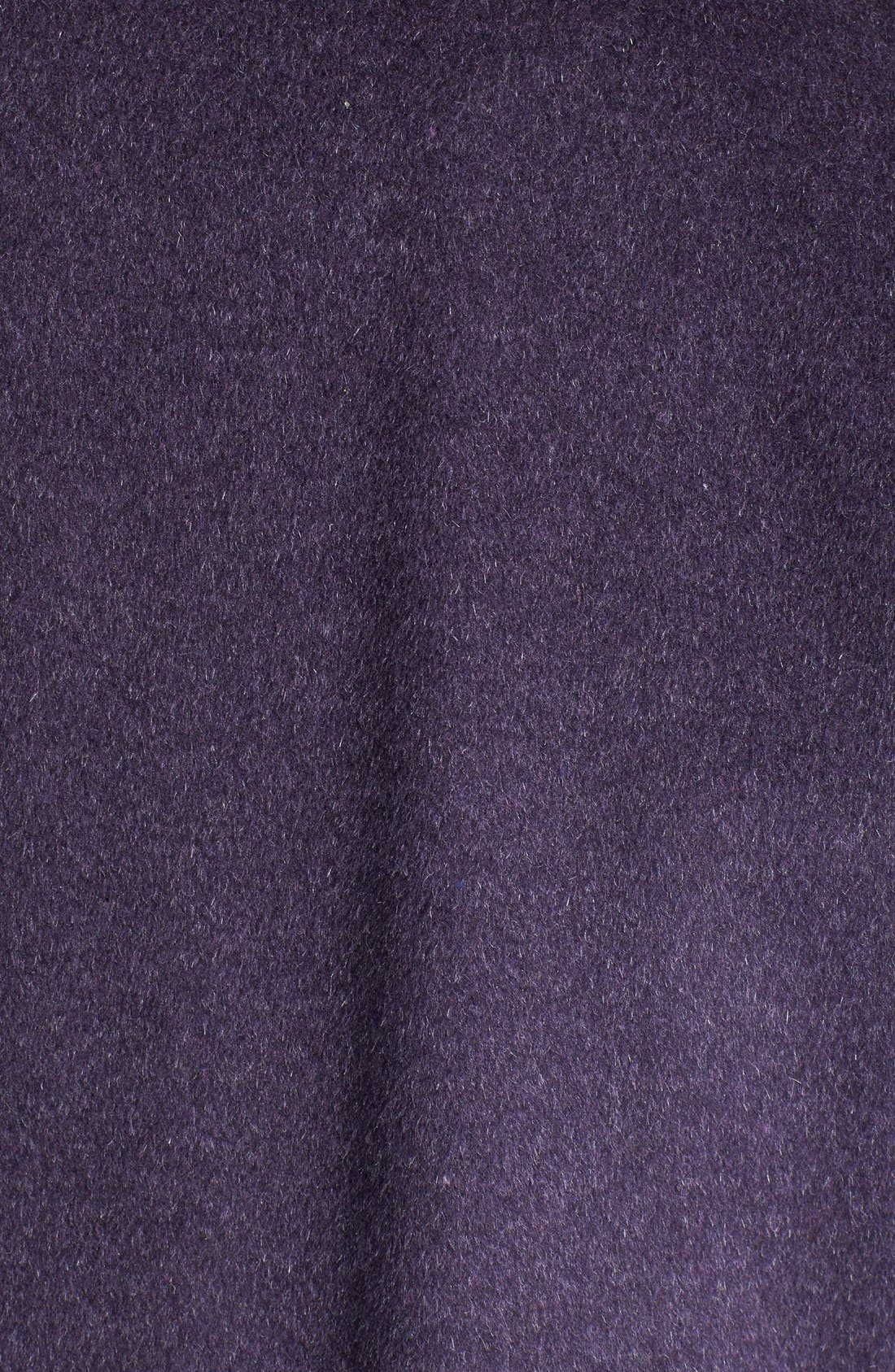 Fly Front Wool Blend Topper,                             Alternate thumbnail 12, color,