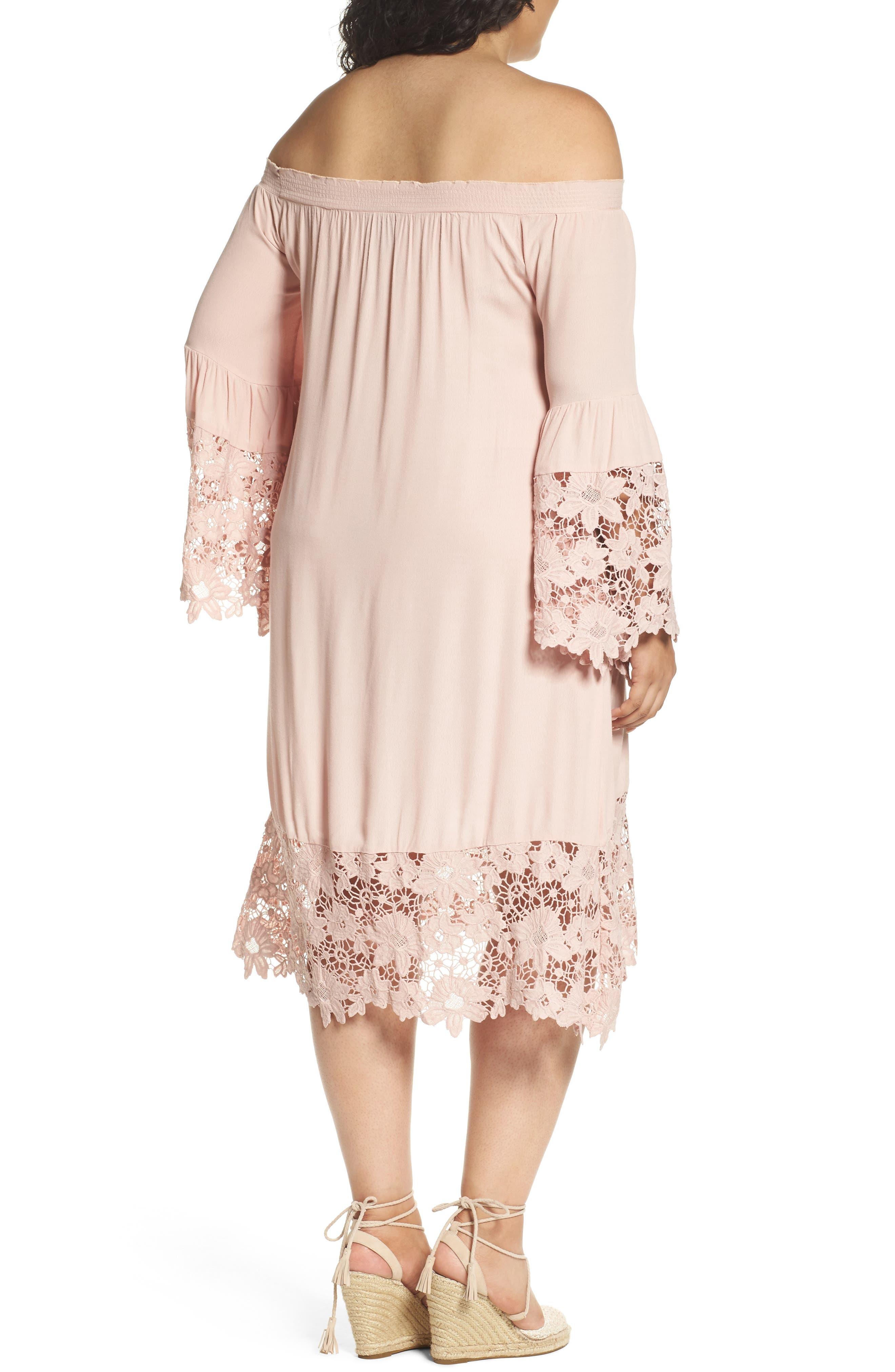Jolie Lace Accent Cover-Up Dress,                             Main thumbnail 3, color,