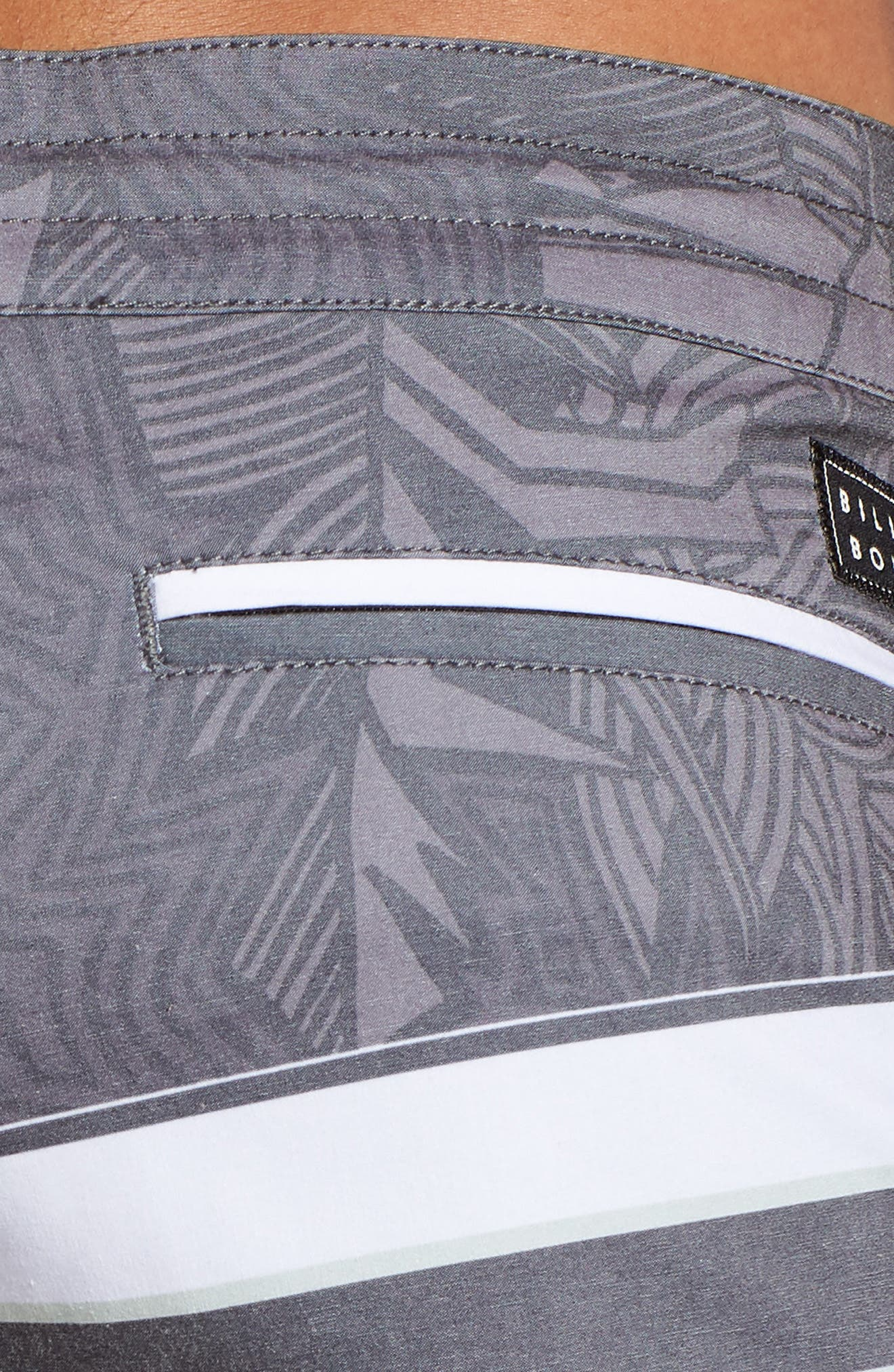 Stringer Lo Tides Board Shorts,                             Alternate thumbnail 5, color,                             001