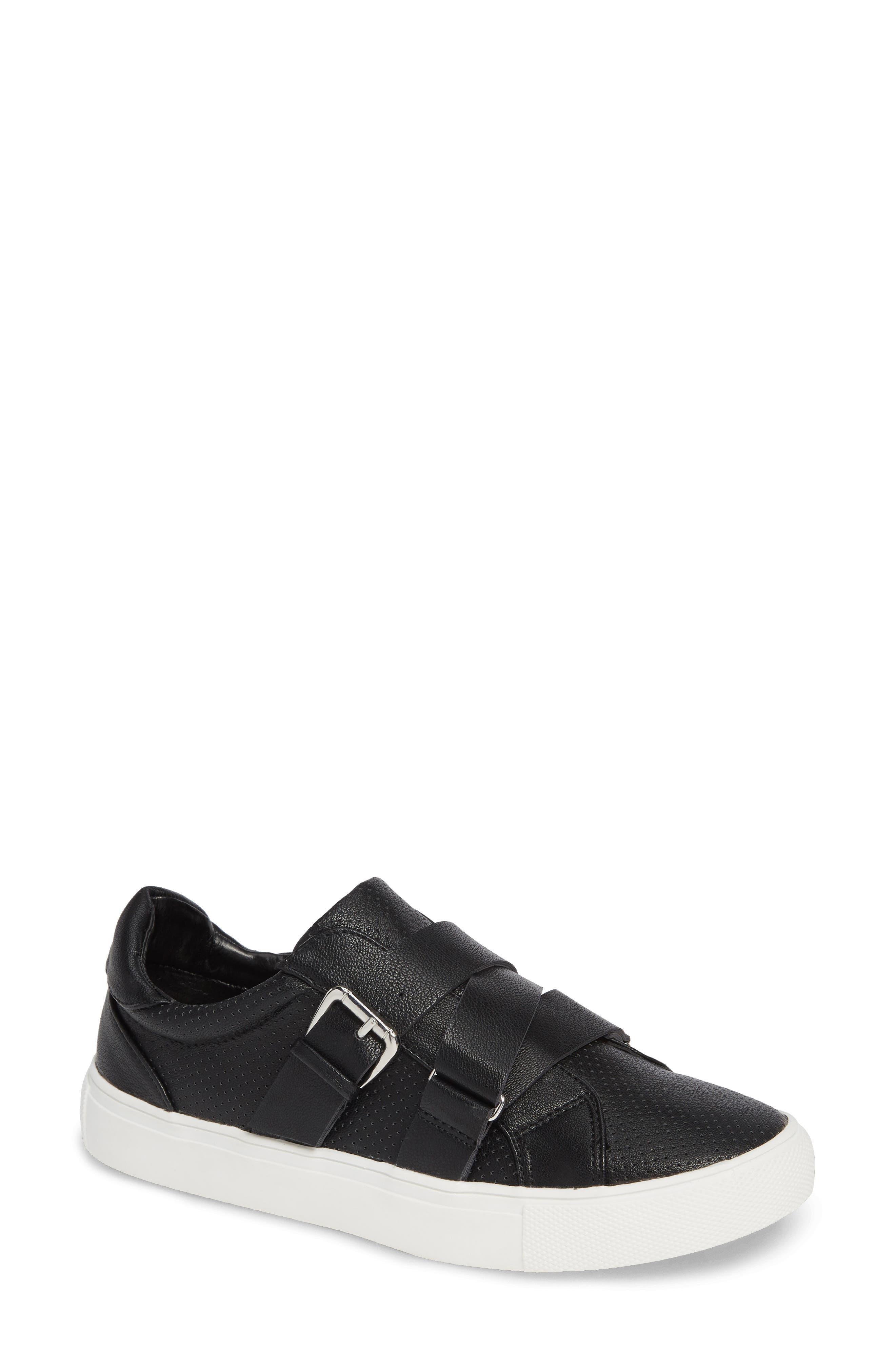 Kaelynn Sneaker,                         Main,                         color, BLACK