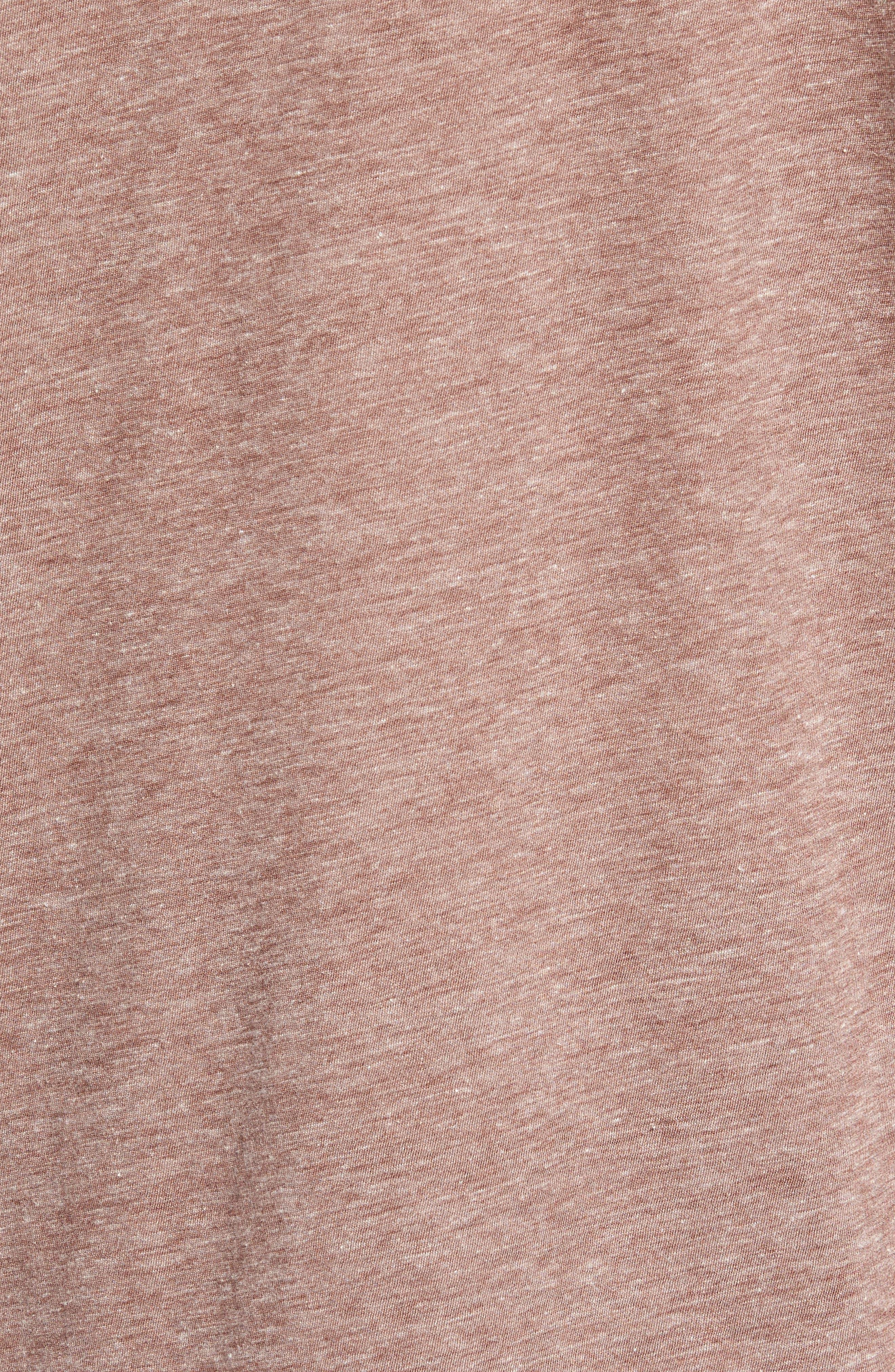 Slubbed Cotton & Linen Pocket T-Shirt,                             Alternate thumbnail 15, color,