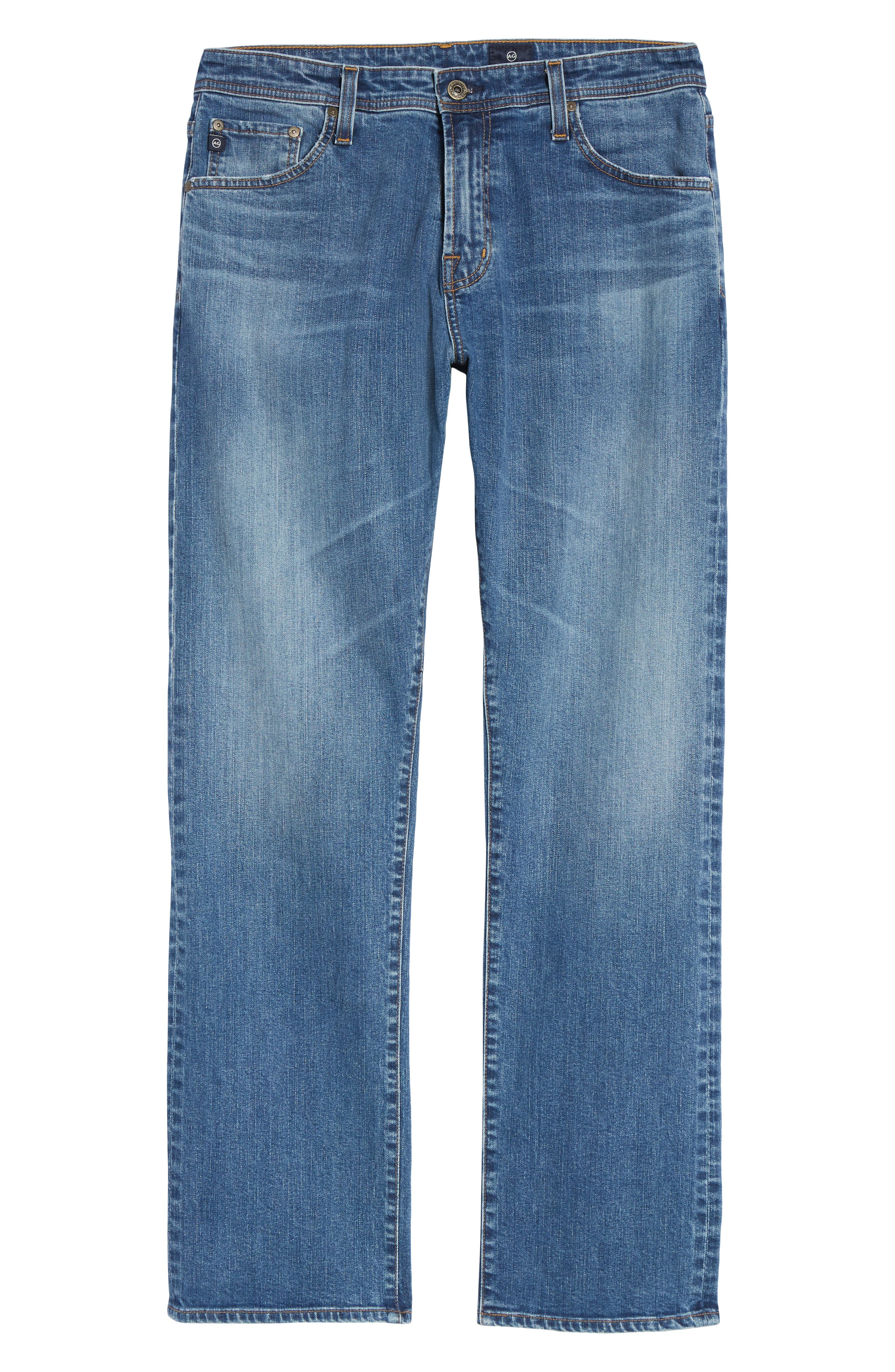 Ives Straight Leg Jeans,                             Alternate thumbnail 6, color,                             485