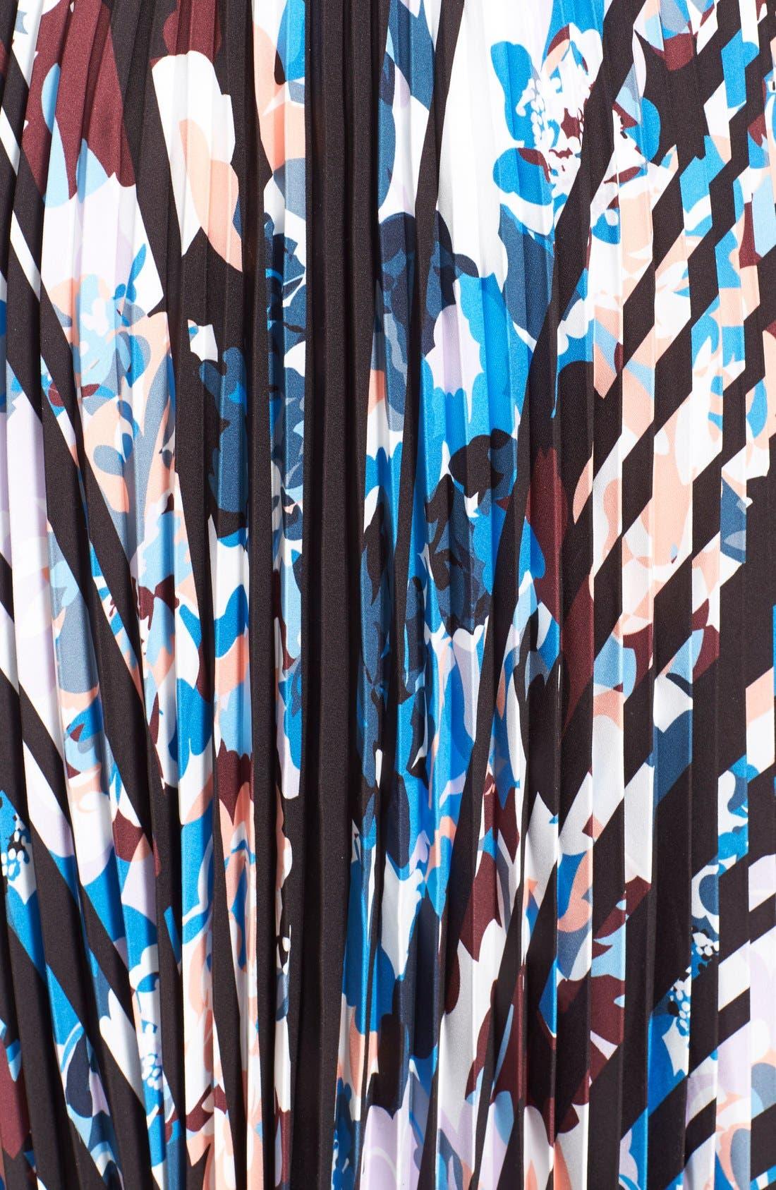 'Caident' Print Skirt,                             Alternate thumbnail 3, color,