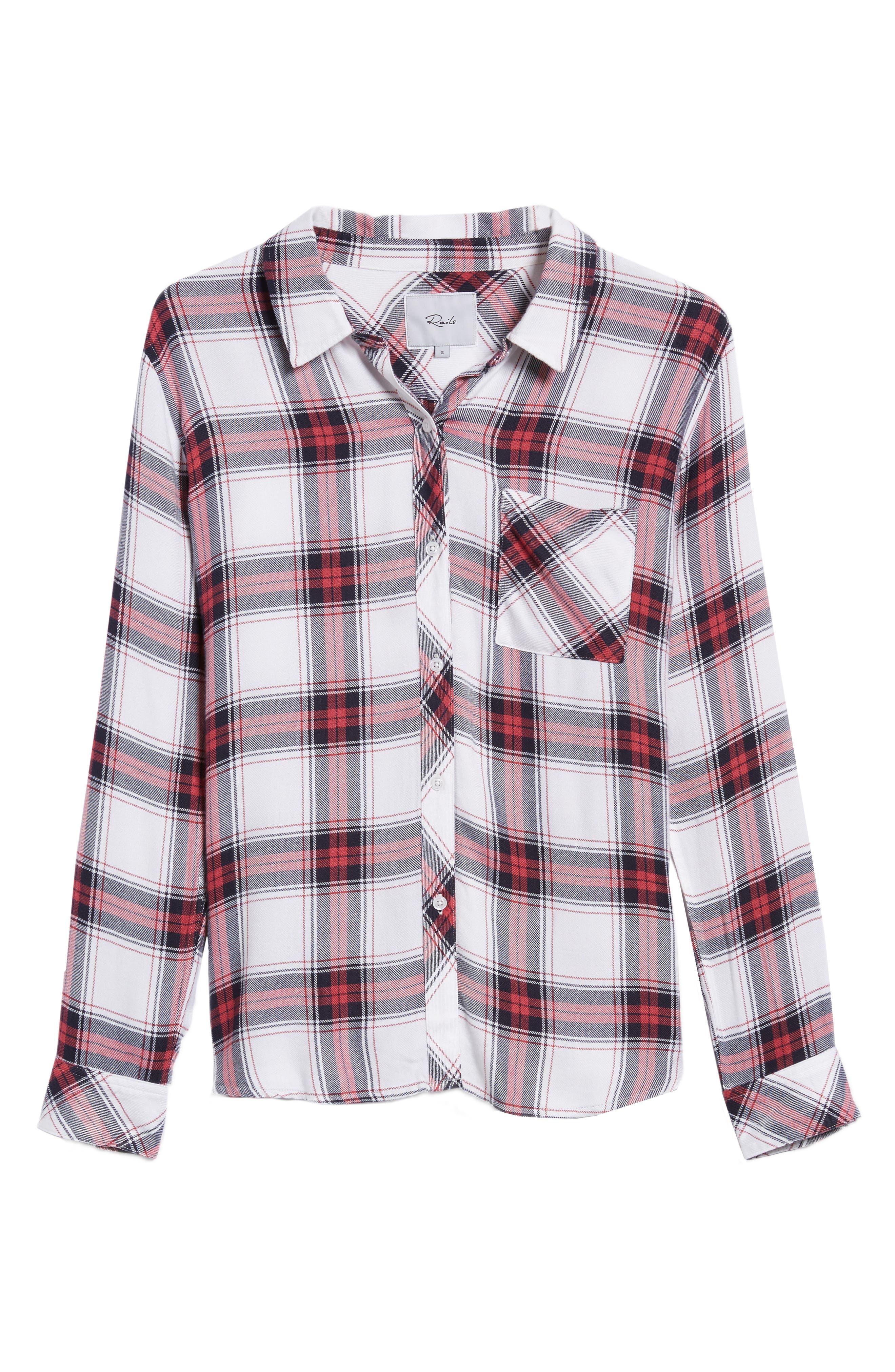 Hunter Plaid Shirt,                             Alternate thumbnail 707, color,