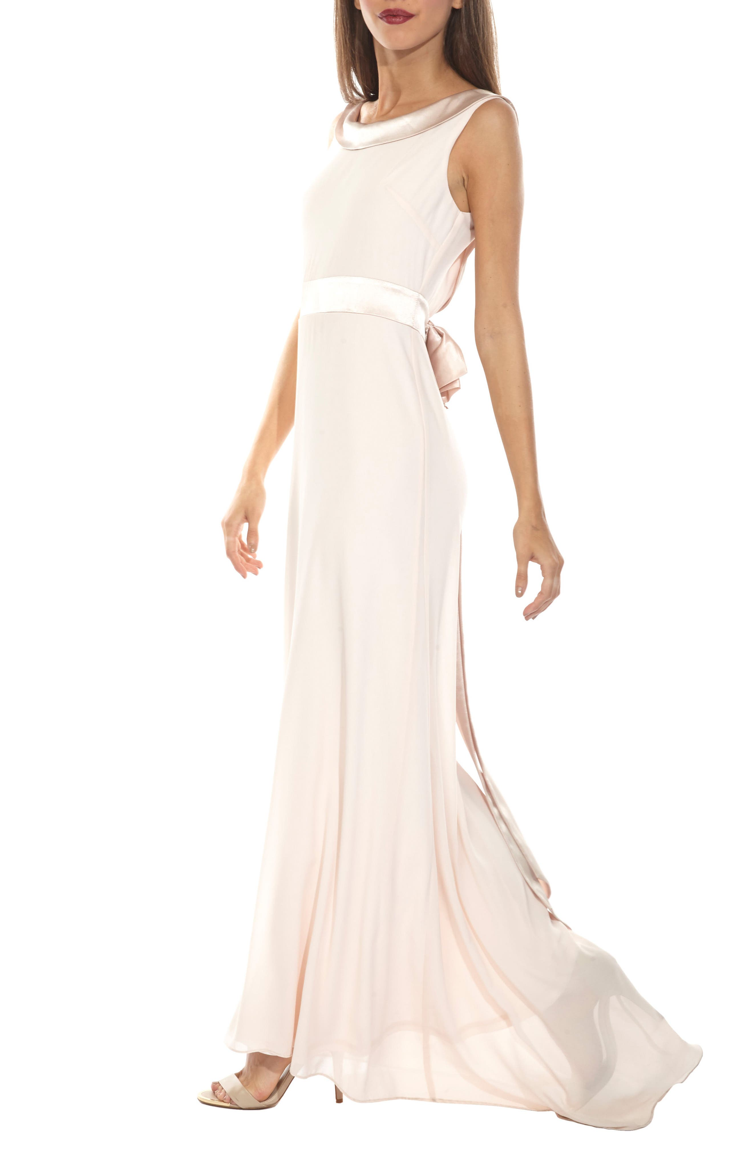 Daralls V-Back Maxi Dress,                             Alternate thumbnail 3, color,                             280