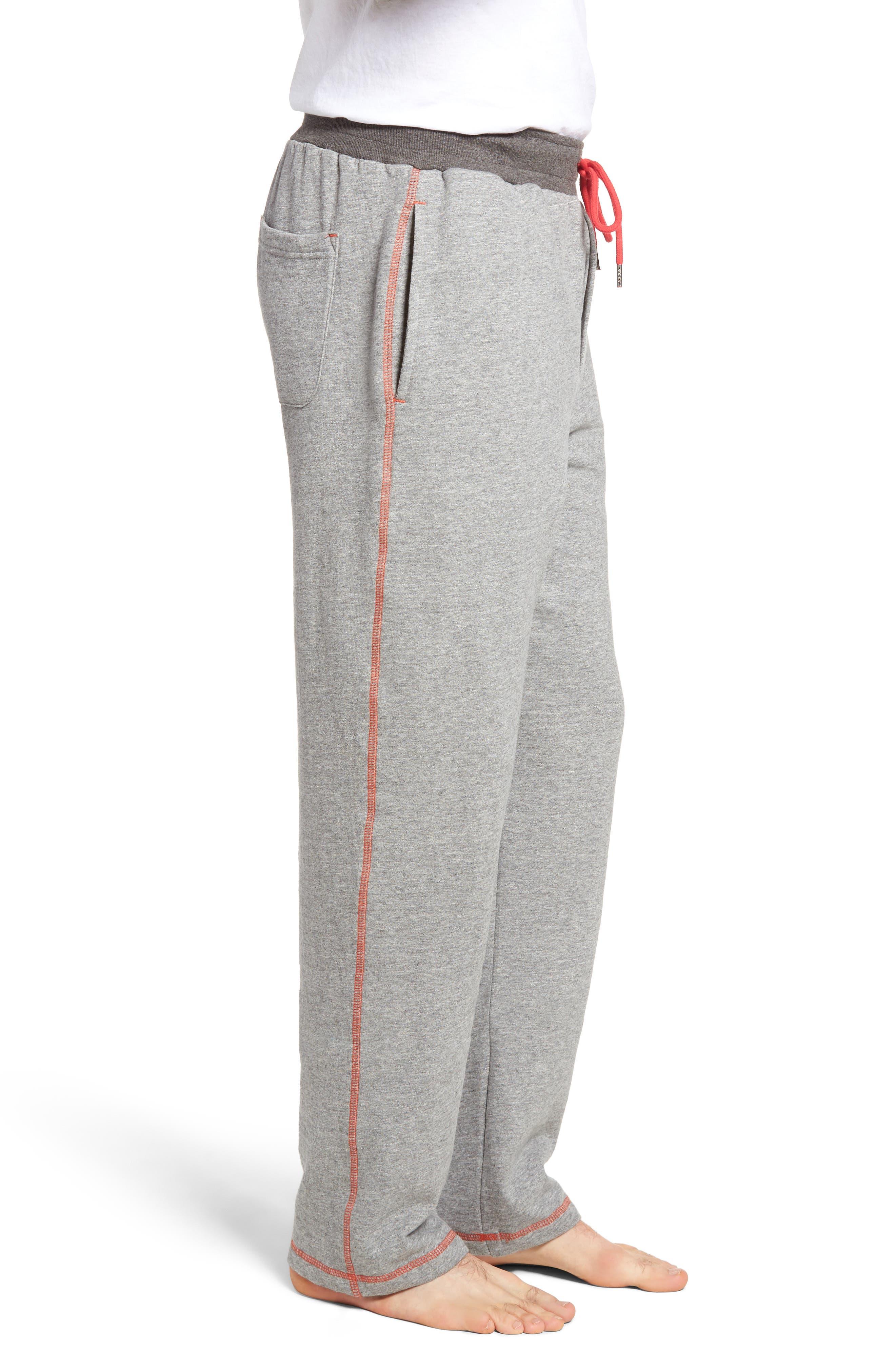 Bhooka Cotton Blend Lounge Pants,                             Alternate thumbnail 3, color,                             020
