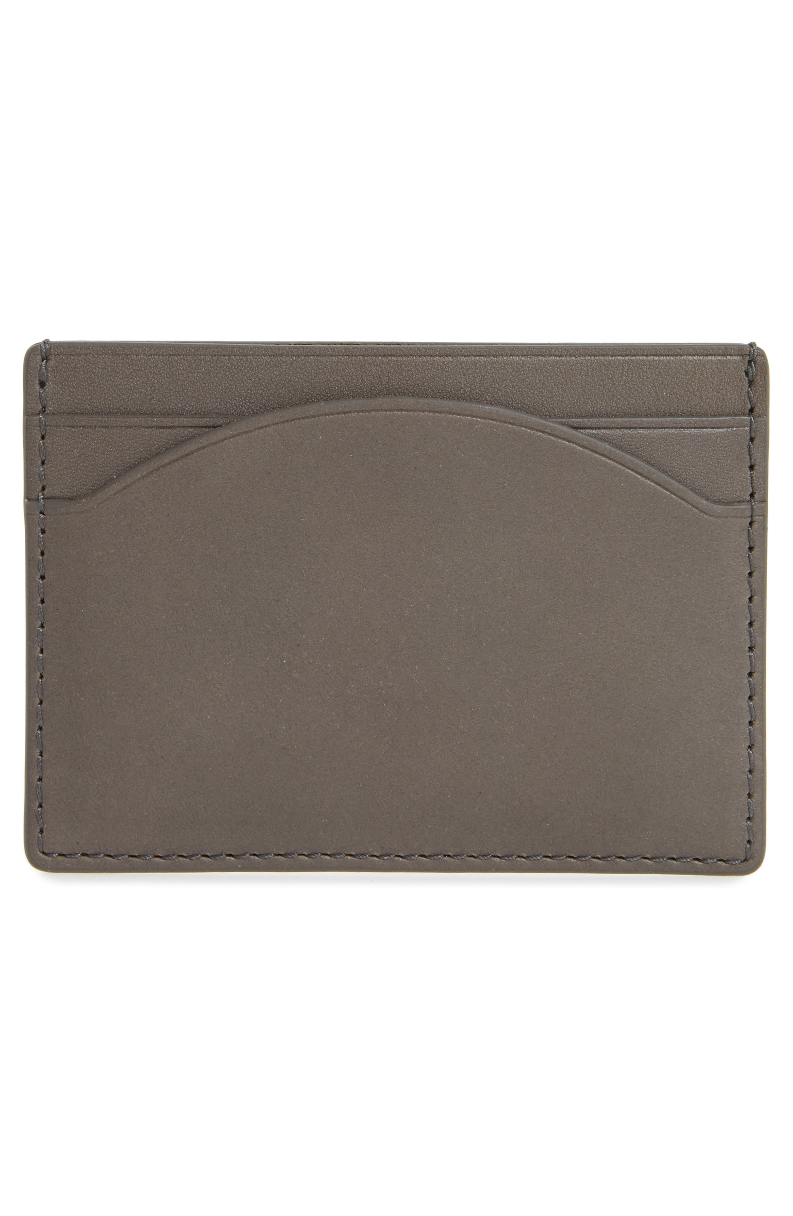 Leather Card Case,                             Alternate thumbnail 2, color,                             020