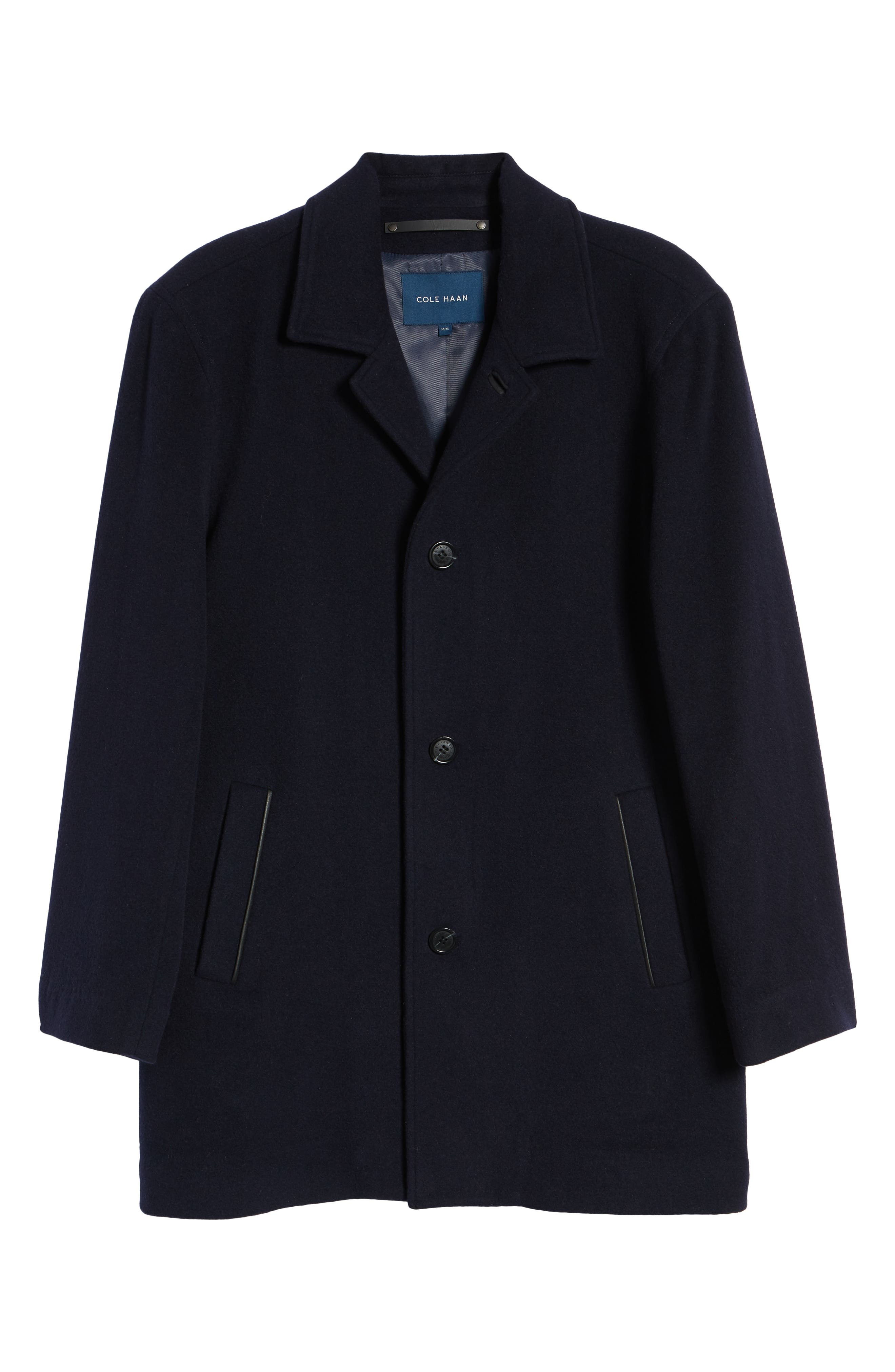 Italian Wool Blend Overcoat,                             Alternate thumbnail 16, color,