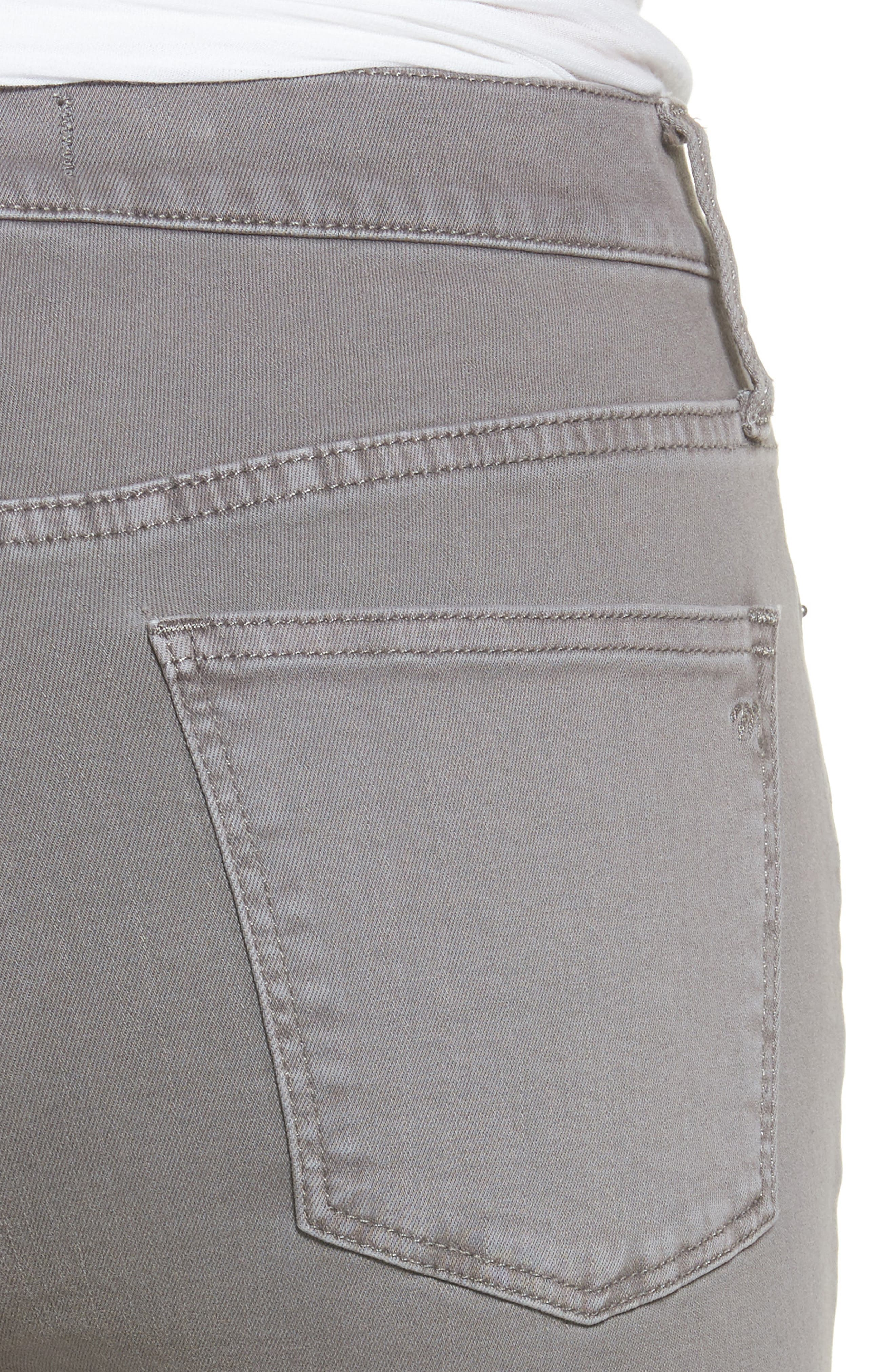 9-Inch High-Rise Skinny Jeans: Raw-Hem Garment-Dyed Edition,                             Alternate thumbnail 4, color,                             020